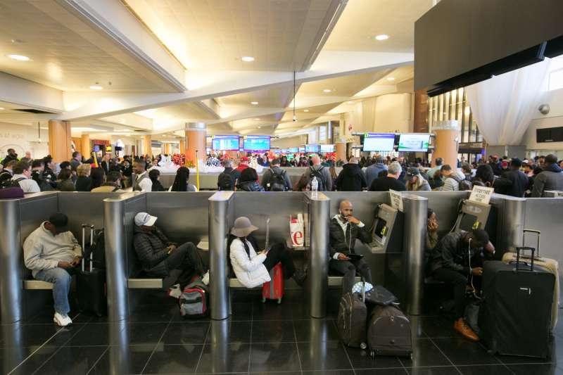 Hartsfield-Jackson Atlanta International Airport on December 18, 2017.