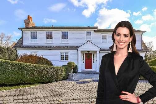 Peek Inside Anne Hathaway's Dreamy New $2.8 Million Connecticut Beach Home