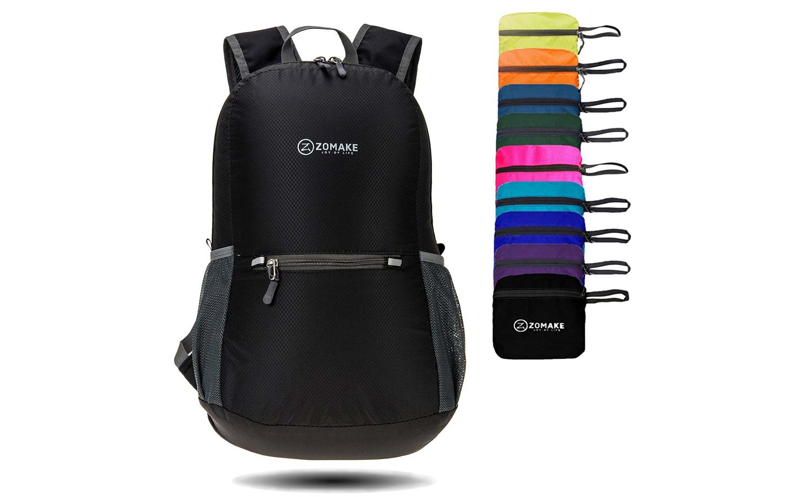 ZOMAKE packable water resistant backpack Gift Guide Under $25