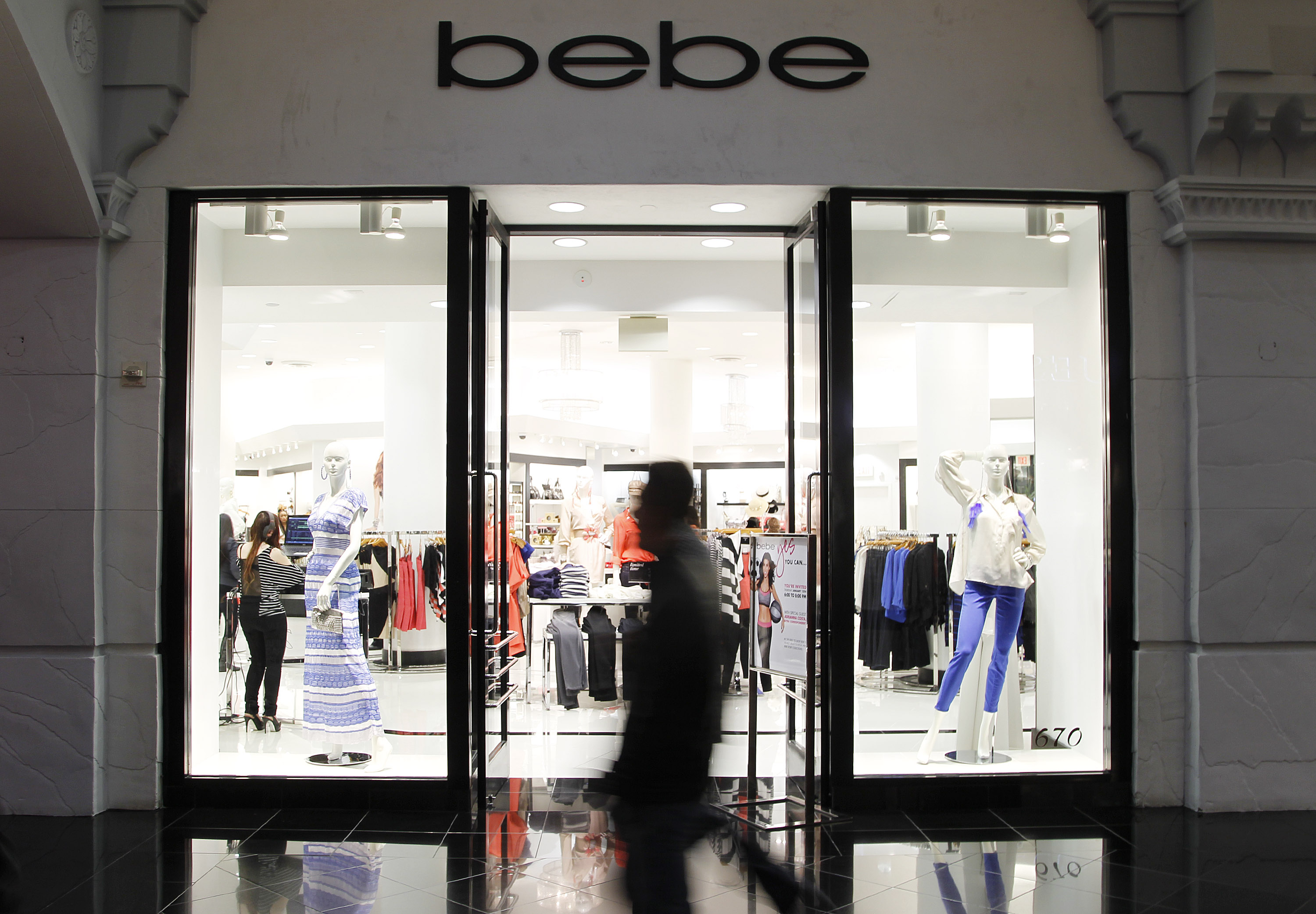 "bebe At Miracle Mile ""Bold New Look"" Event With Adrianna Costa"