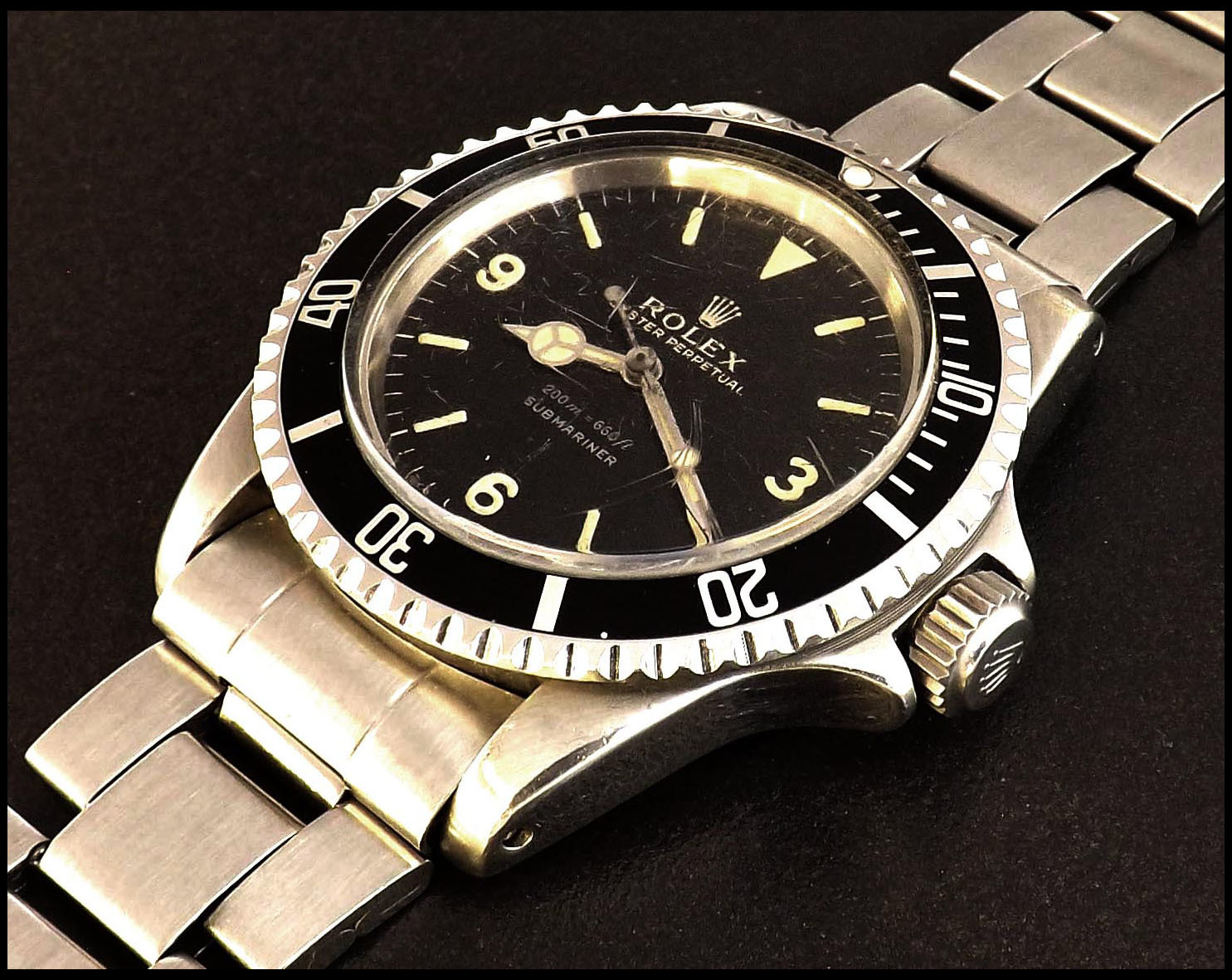 Auction of rare Rolex Oyster Perpetual Submariner watch, Wiltshire, UK - Feb 2017