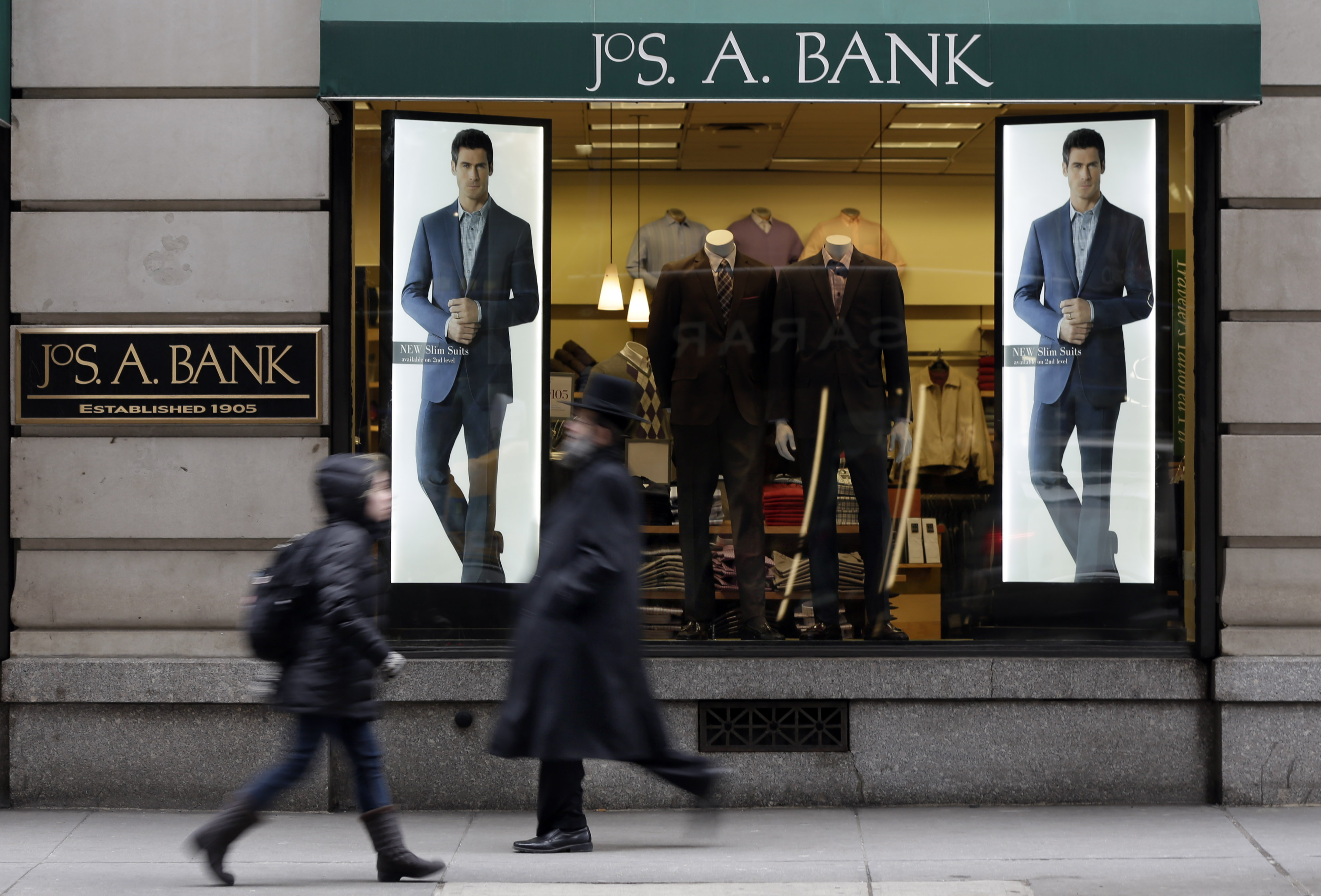 Men's Wearhouse Jos A Bank