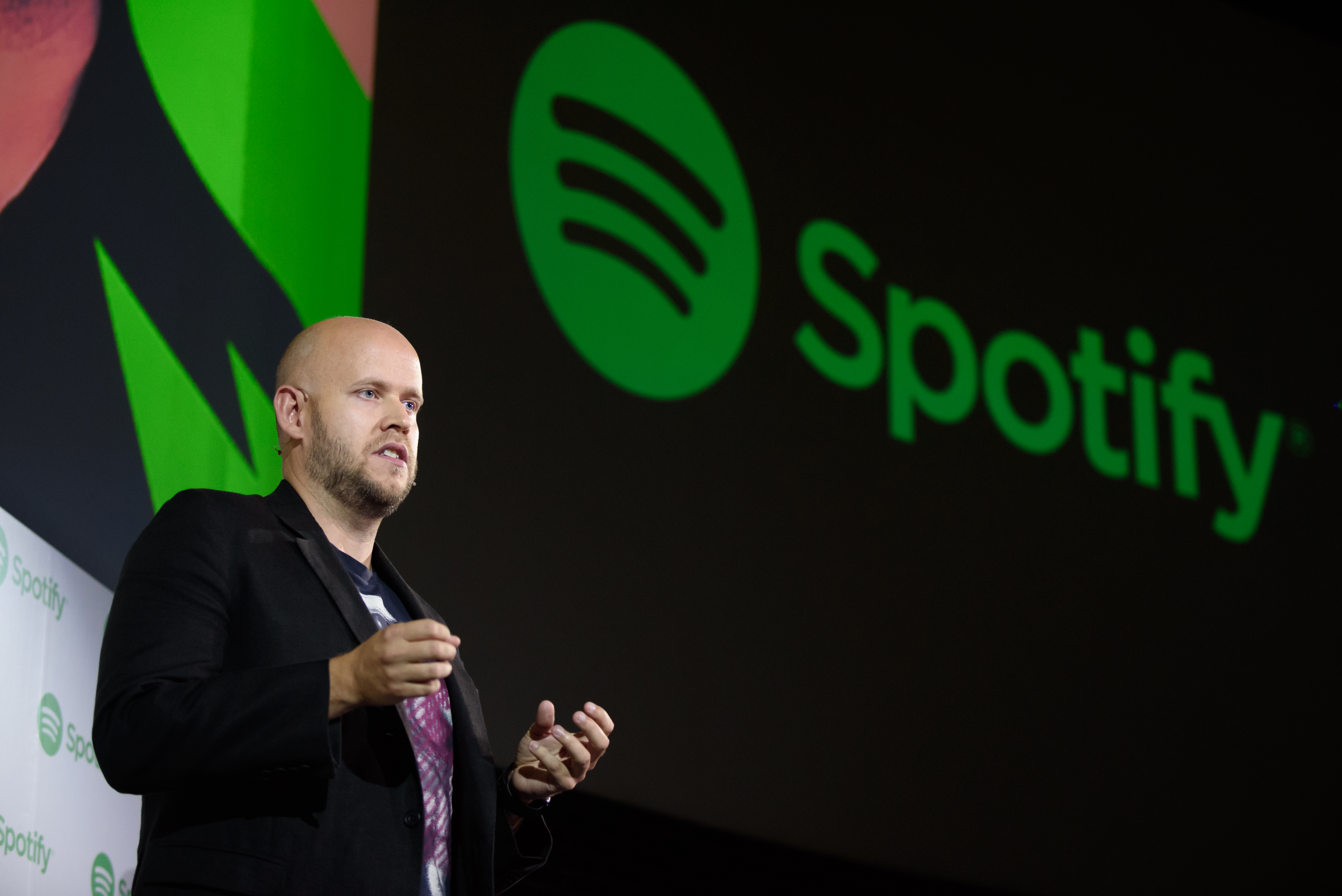 A Spotify Ltd. Press Conference As Company Launches In Japan