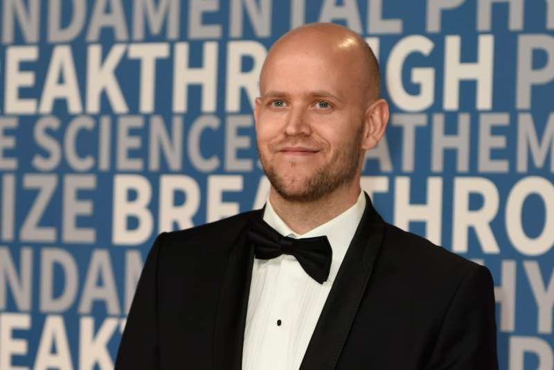 Daniel Ek attends the 2018 Breakthrough Prize at NASA Ames Research Center on December 3, 2017 in Mountain View, California.