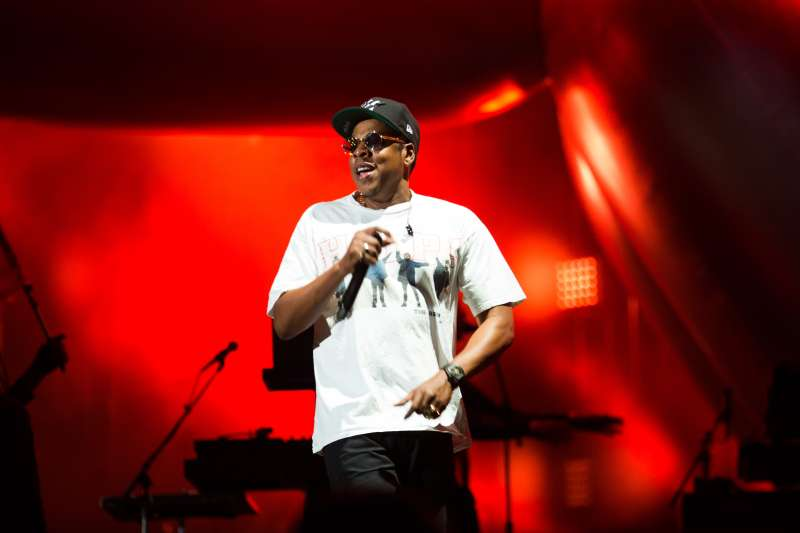 Jay-Z at The Meadows Music and Arts Festival, Day 1, New York, Sept. 15, 2017.