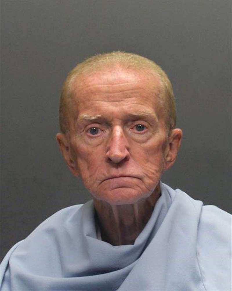 Robert Francis Krebs, an 80-year-old man, accused of robbing a credit union at gunpoint. Police announced Sunday that a tip led to the arrest of Krebs after police circulated surveillance photos of him entering the Pyramid Credit Union and at a teller's window. They say Krebs had a handgun, demanded money from the teller and was given cash before running out of the bank.