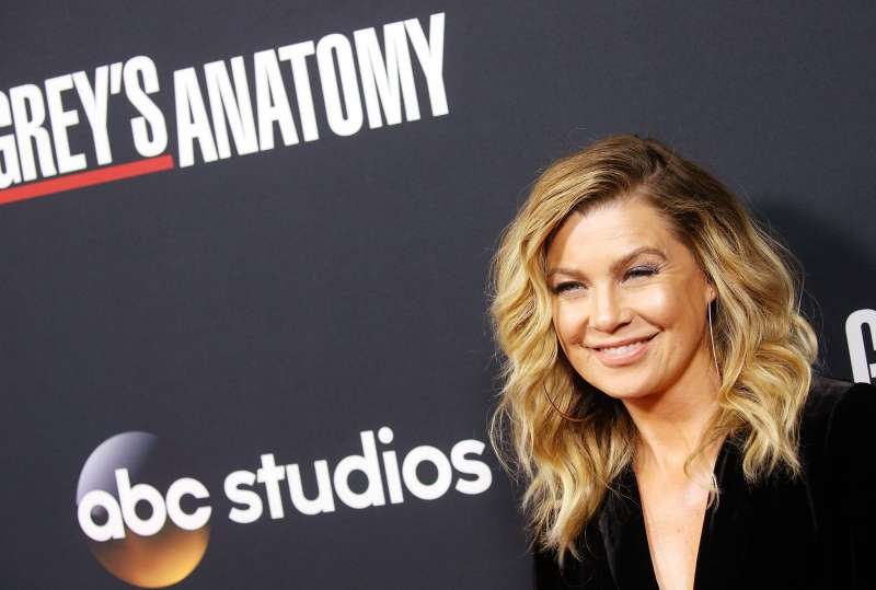 Ellen Pompeo arrives at the 300th episode celebration for ABC's  Grey's Anatomy  held at TAO Hollywood on November 4, 2017 in Los Angeles, California.