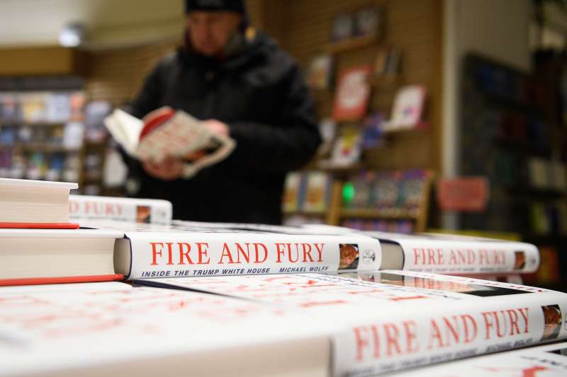 Michael Wolff's book on President Trump's Presidency  Fire and Fury