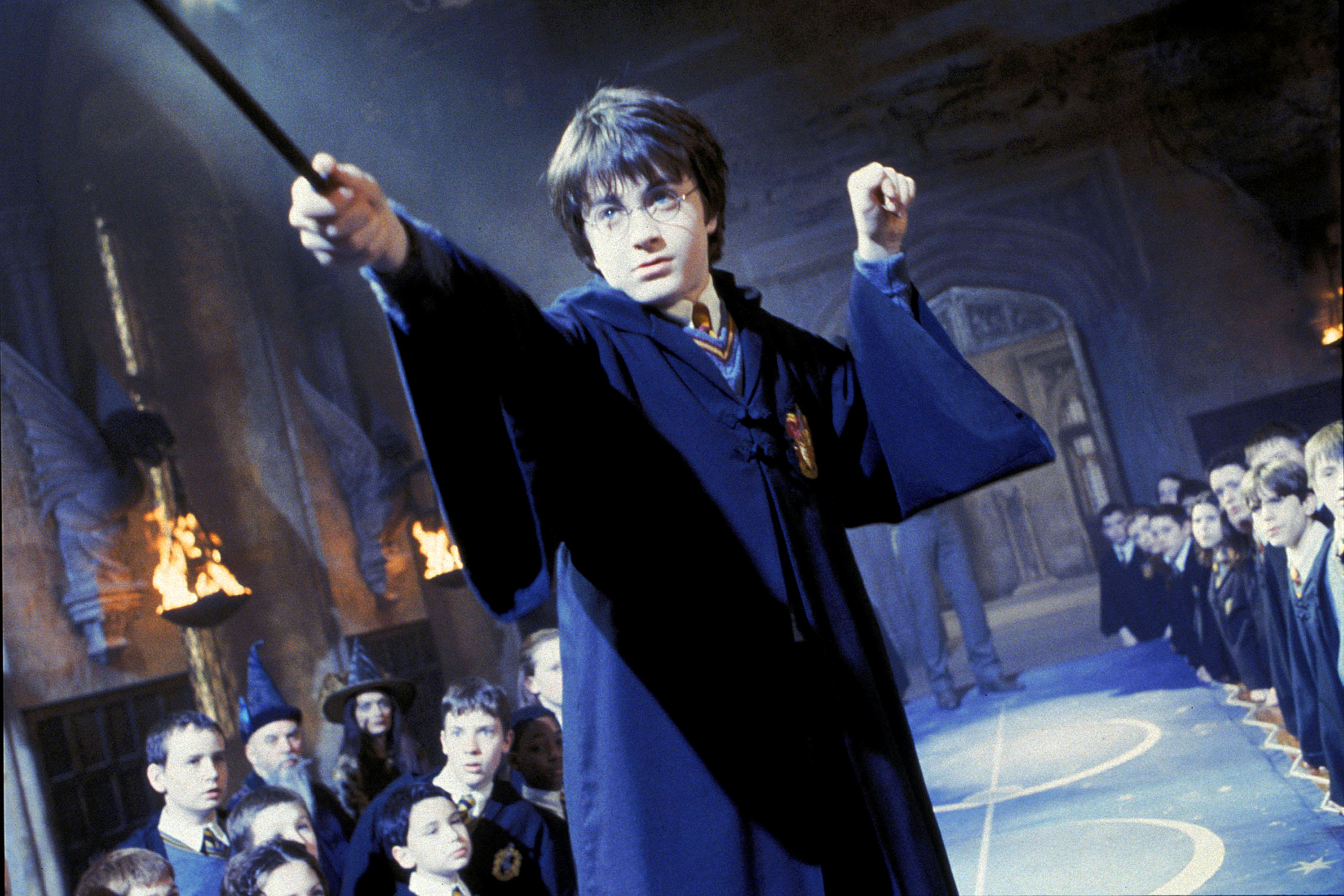 Harry Potter and the Chamber of Secrets (2002)                       Daniel Radcliffe as Harry Potter