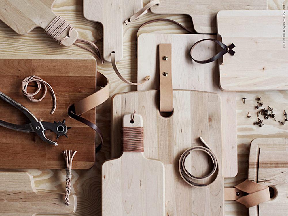 Cutting board IKEA hack