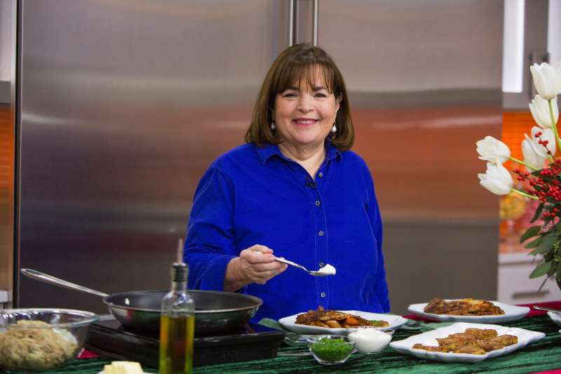 Ina Garten on Wednesday, December 6, 2017, during an appearance on the  Today  Show.