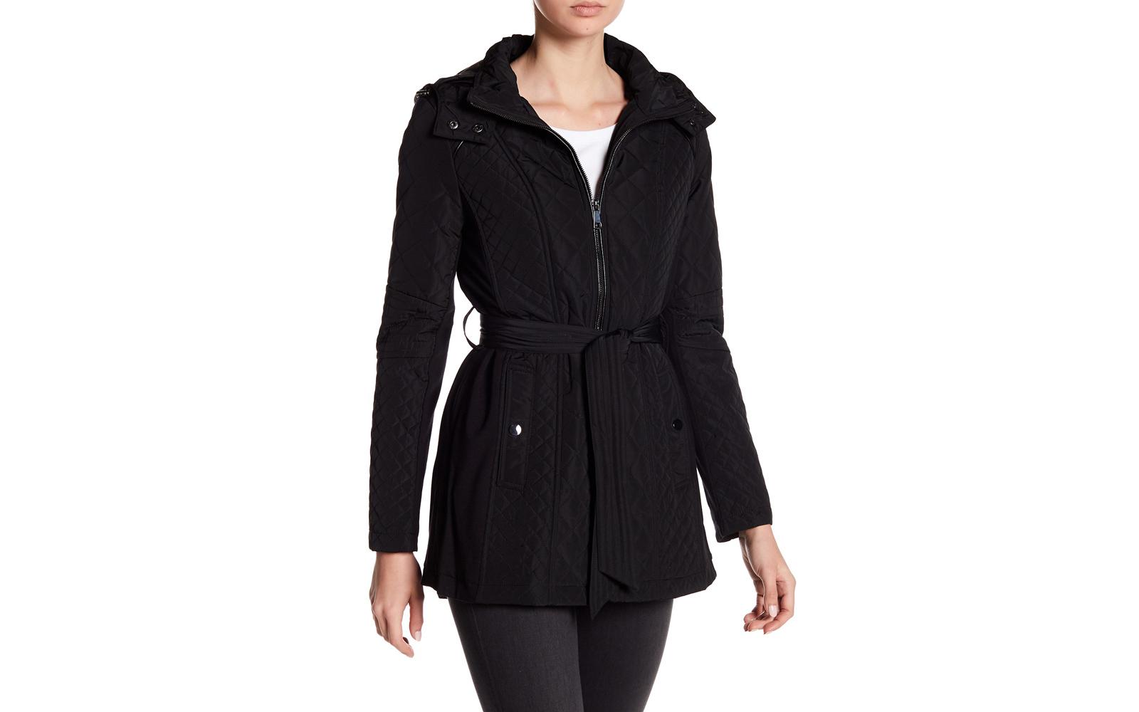Nordstrom Rack Sebby Quilt Hooded Jacket