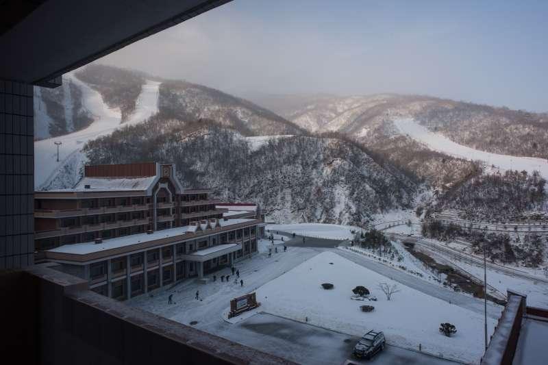 The Masikryong ski resort, on Feb. 20, 2017