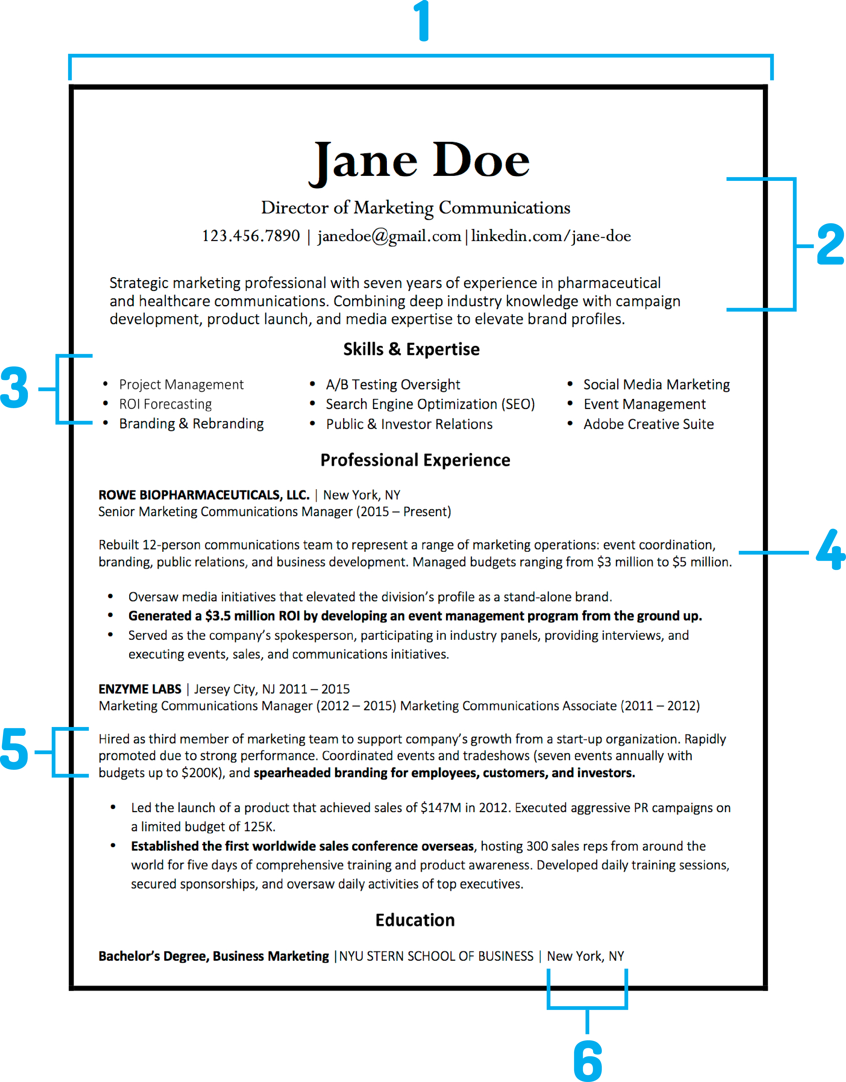Best Resume Template 2018 from content.money.com