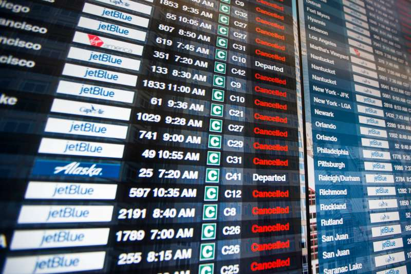 Winter Storm Grayson is expected to cause travel delays and flight cancellations along the East Coast this week.