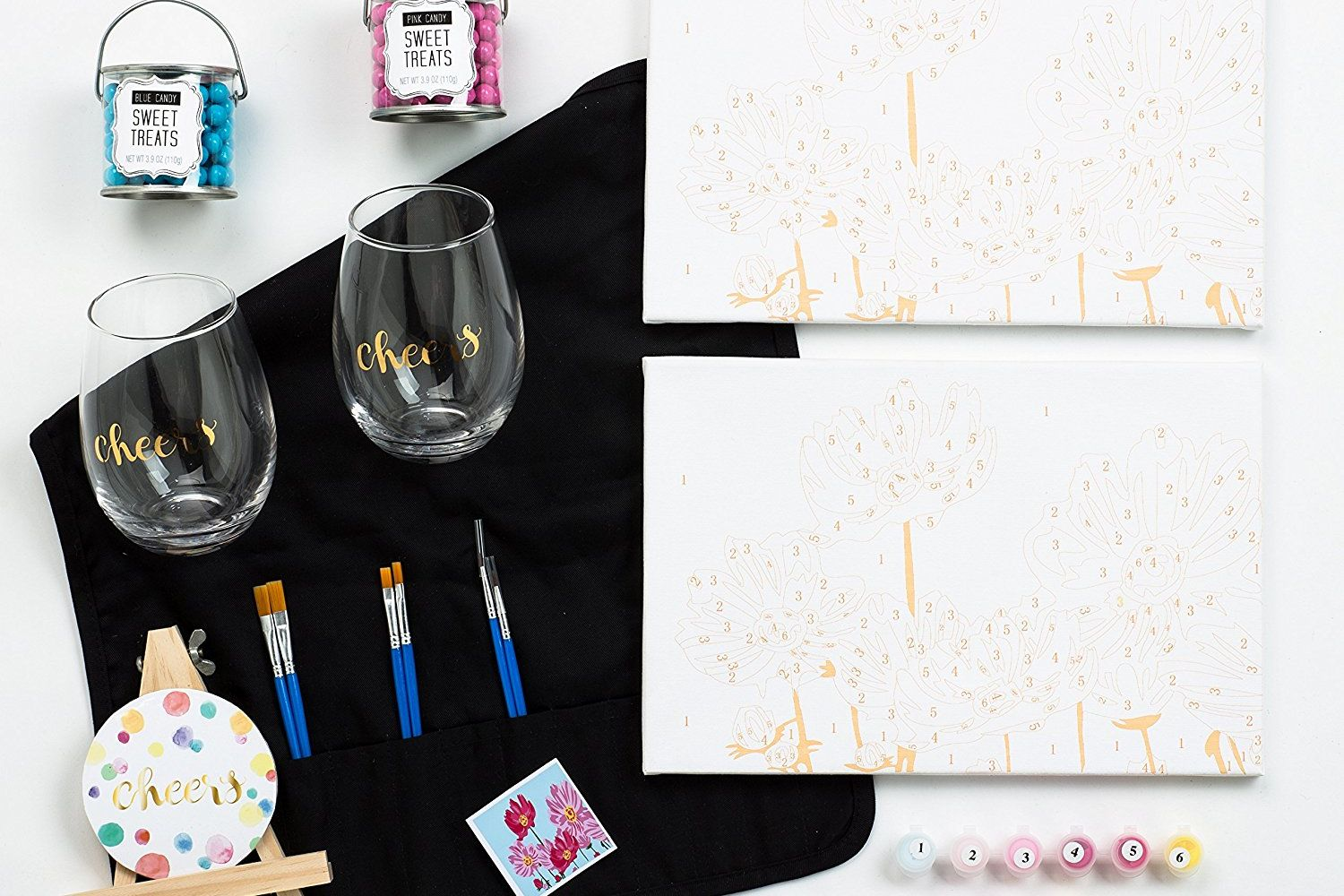 Thoughtfully's Wine & Paint Night At Home