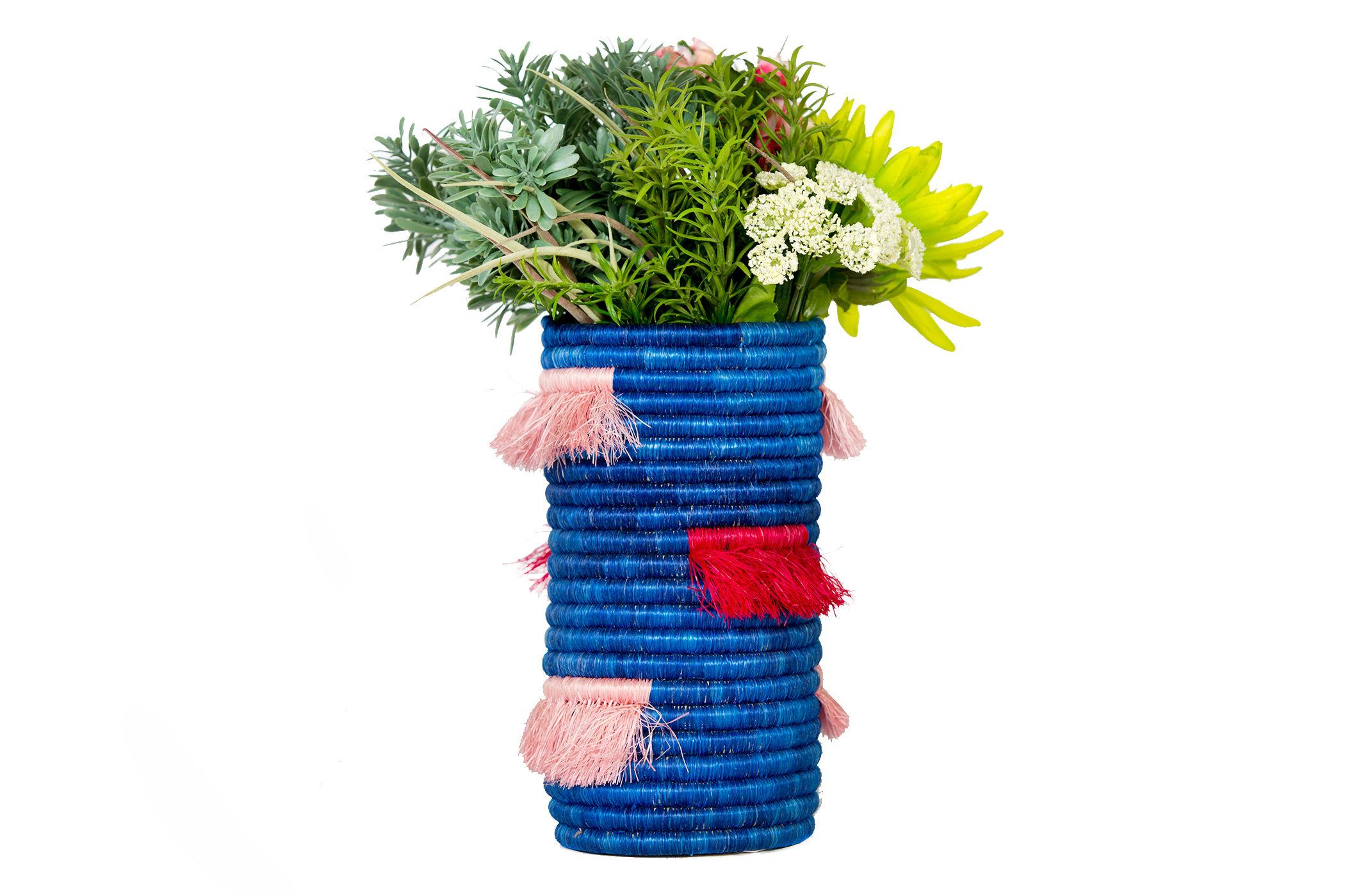 All Across Africa Handwoven Vase