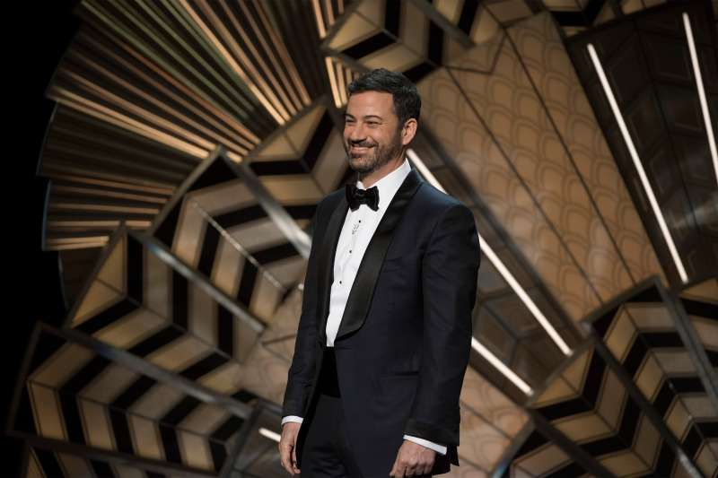 Jimmy Kimmel on stage at the 89th Oscars, which was broadcast live on Sunday, Feb. 26 2017, on the ABC Television Network.