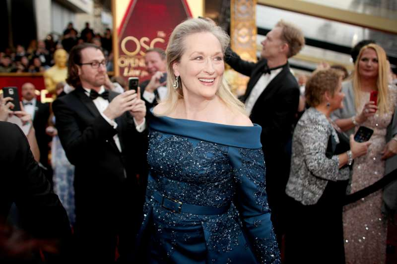 Actor Meryl Streep attends the 89th Annual Academy Awards at Hollywood & Highland Center on February 26, 2017 in Hollywood, California.