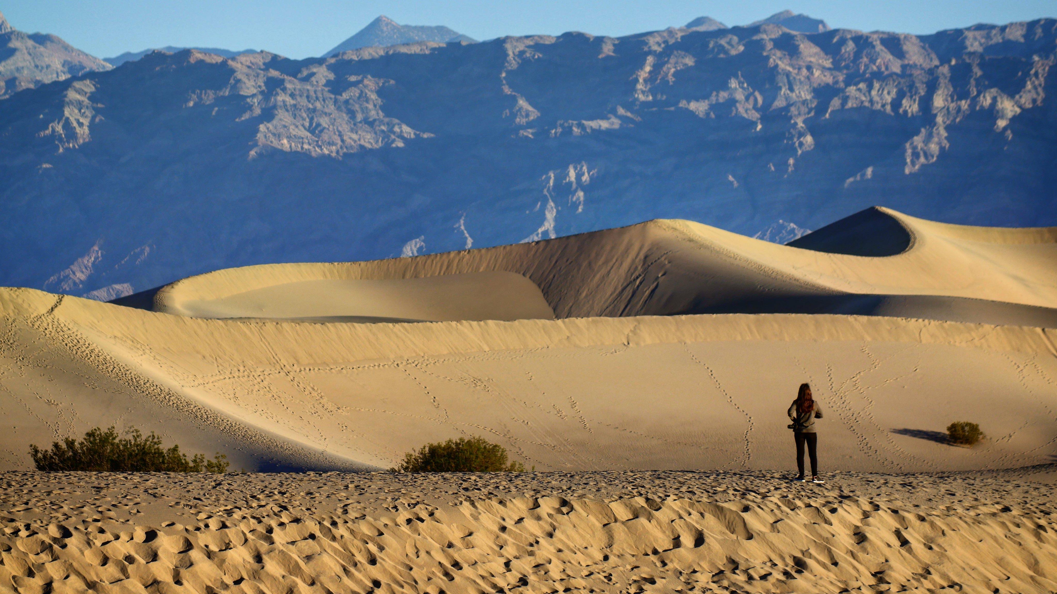Mesquite Dunes of Death Valley
