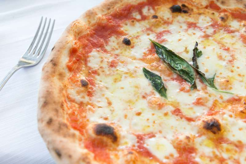 Enjoy a Margherita pizza on National Pizza Pie Day.