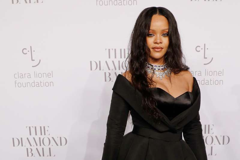 Rihanna attends the 2017 Diamond Ball at Cipriani Wall Street on Sept. 14, 2017 in New York City.