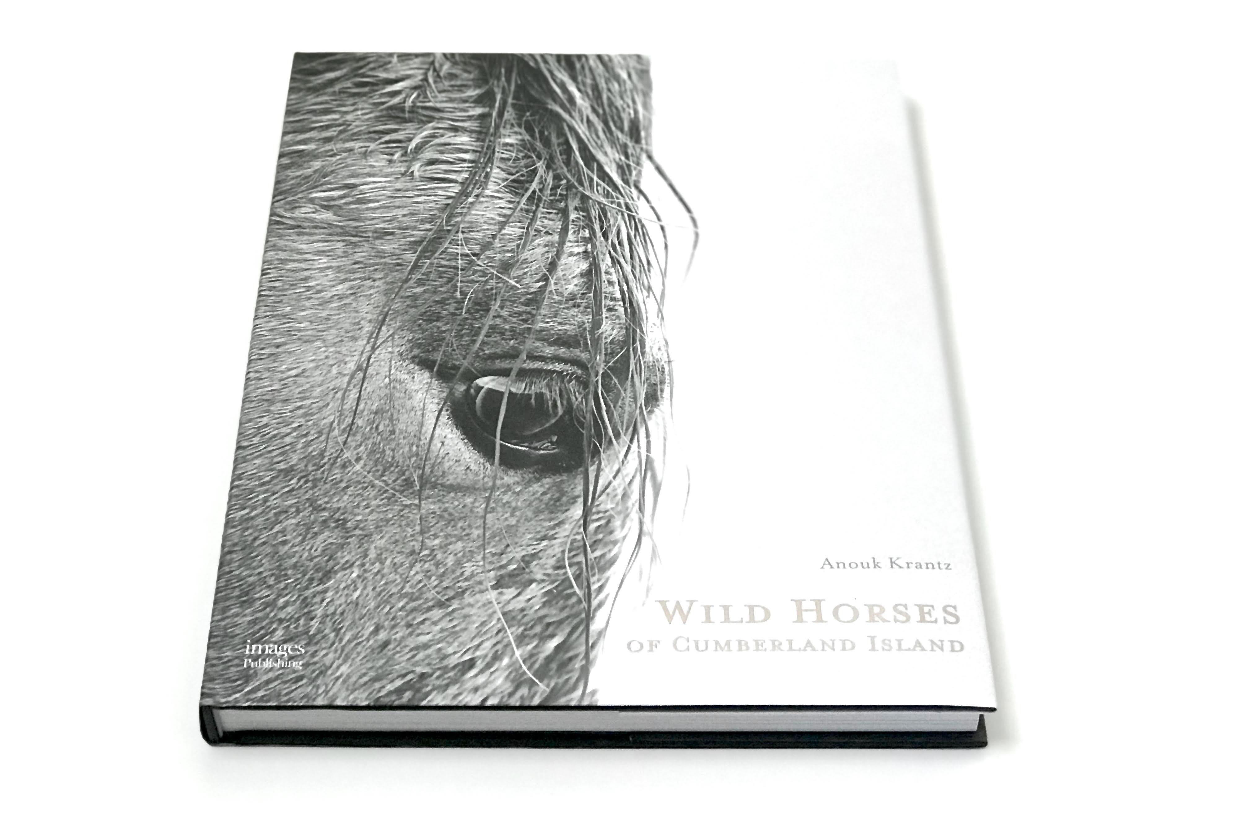 Wild Horses of Cumberland Island, hardcover book