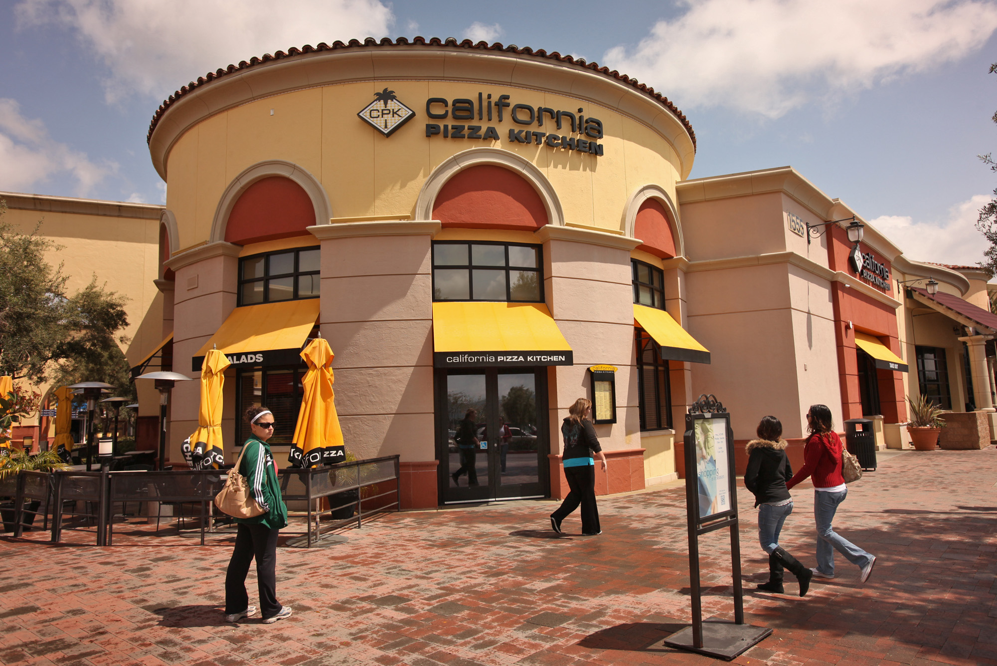 California Pizza Kitchen located at the Simi Valley Town Center April 12, 2010. The Los Angeles?bas