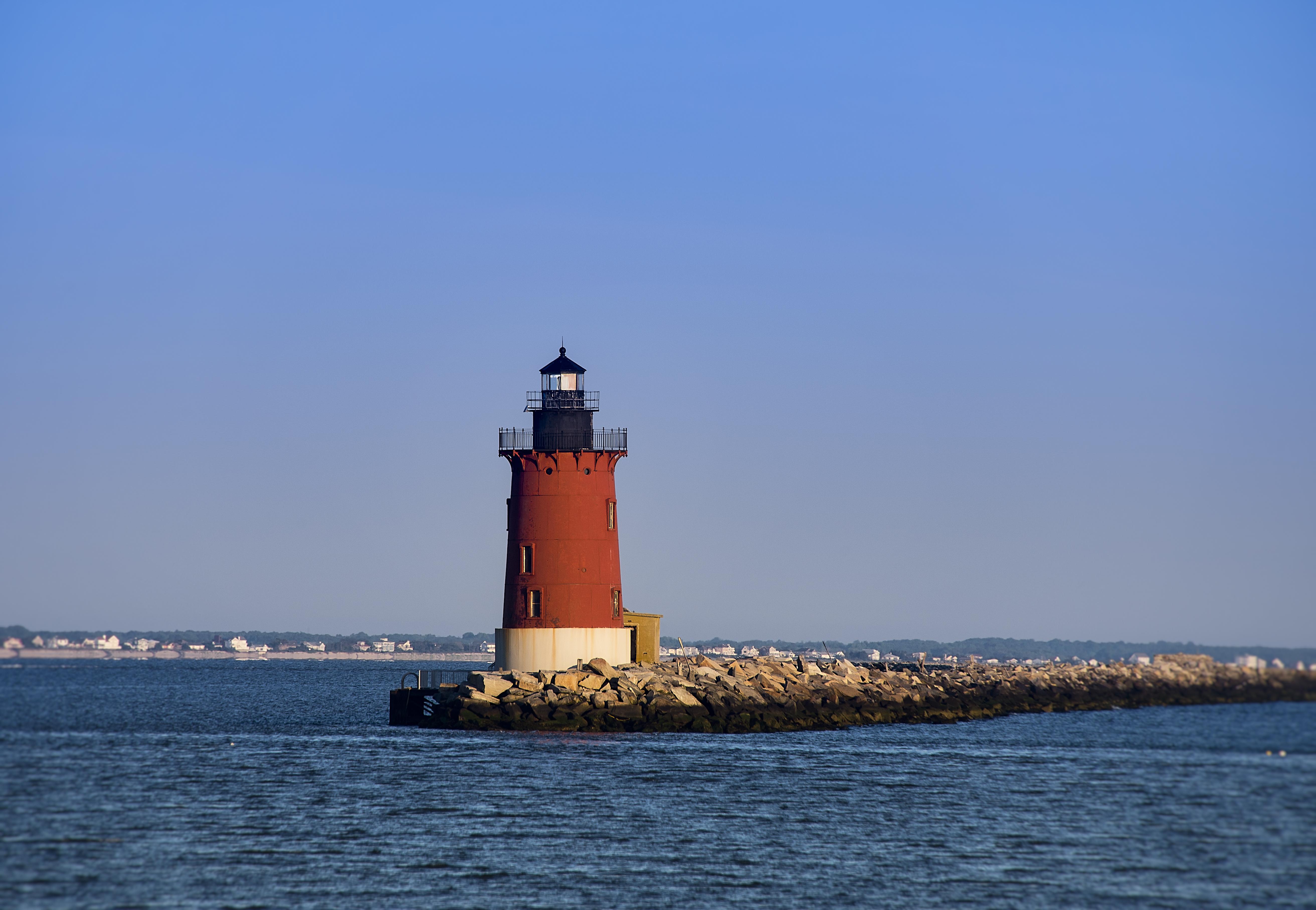 Delaware Breakwater Lighthouse, Lewes, Delaware, U
