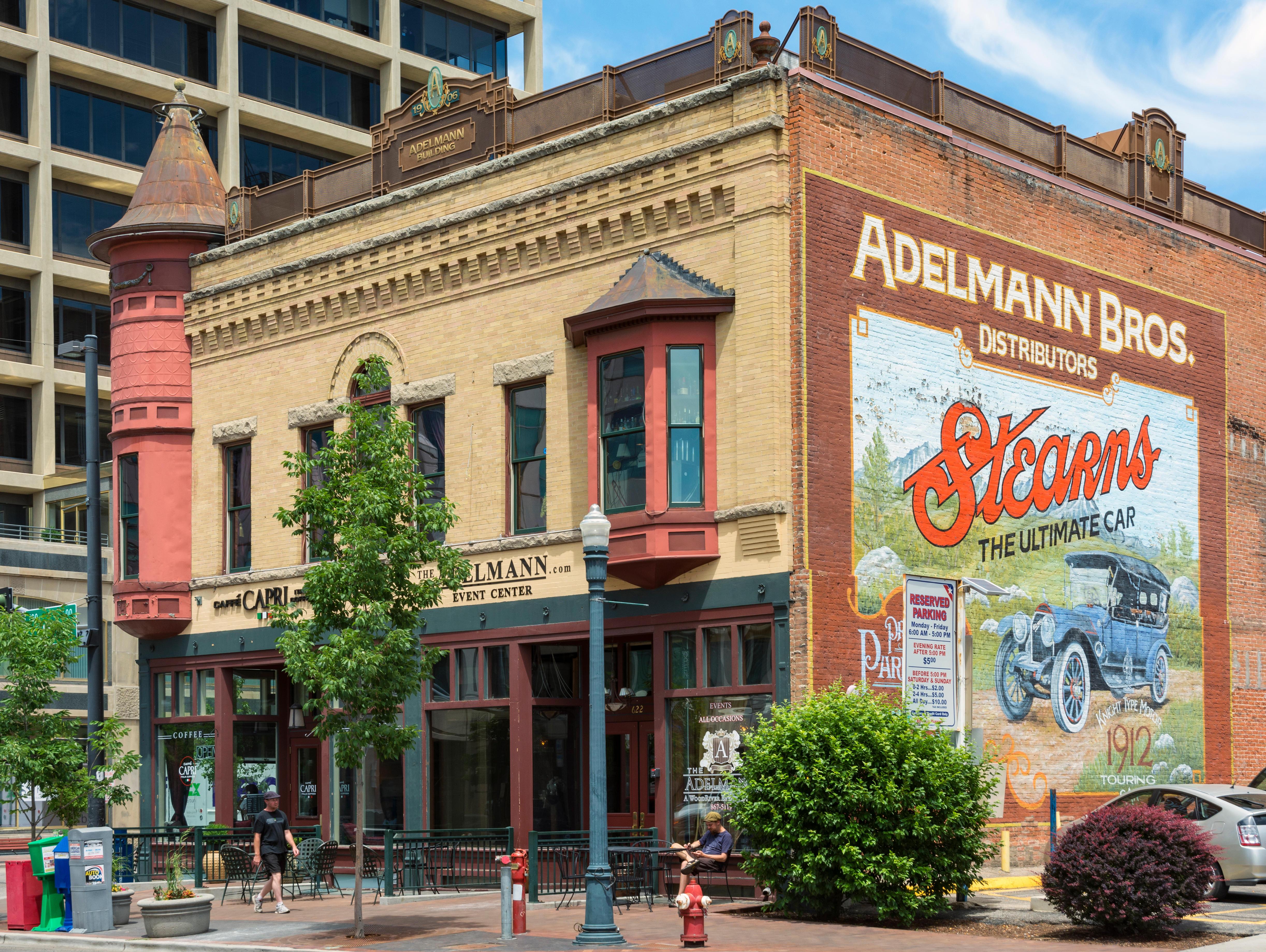 Idaho, Old Boise Historic District, 1906 Adelmann Building