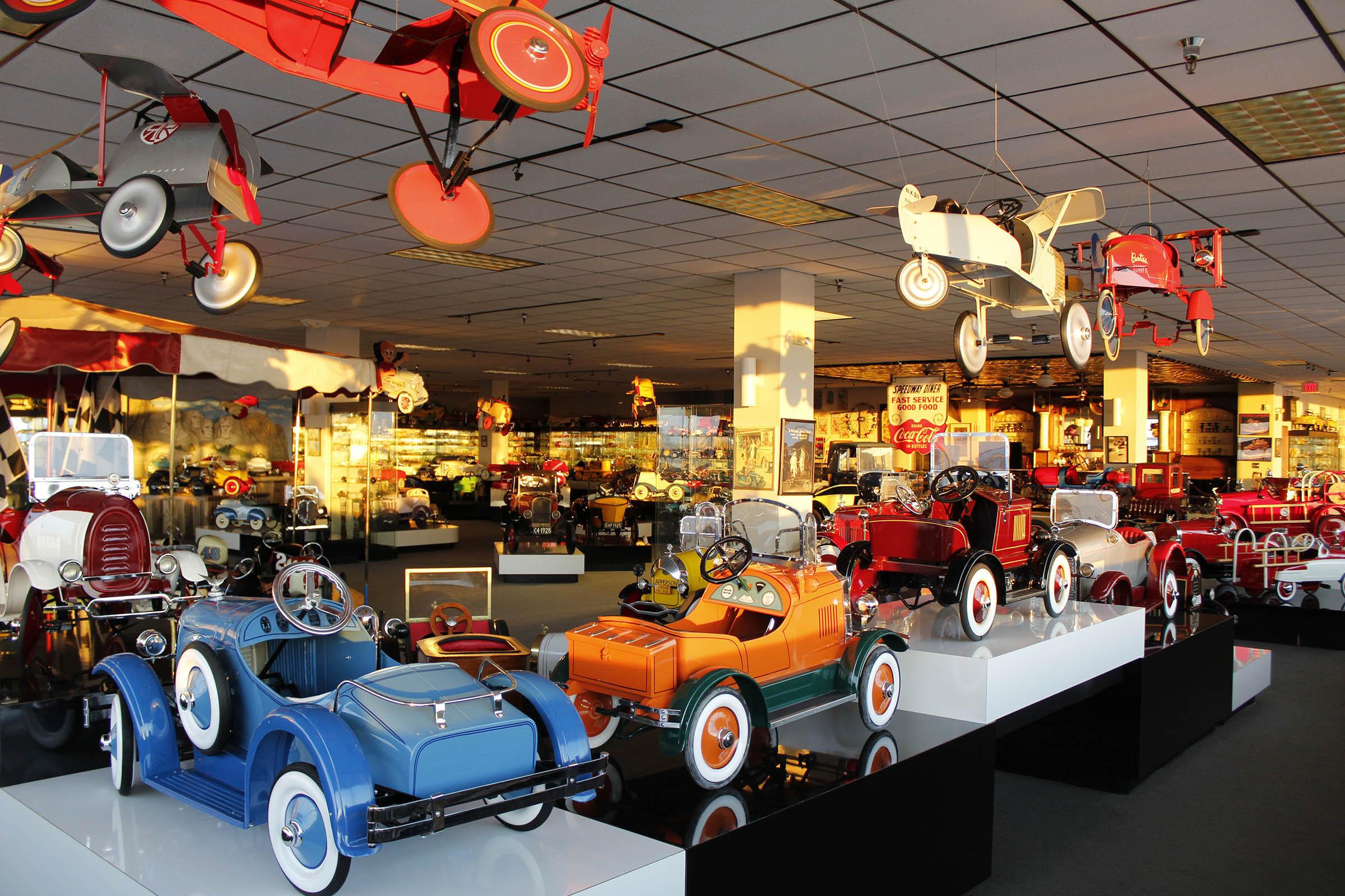 3rd Floor Pedal Cars, Museum of American Speed
