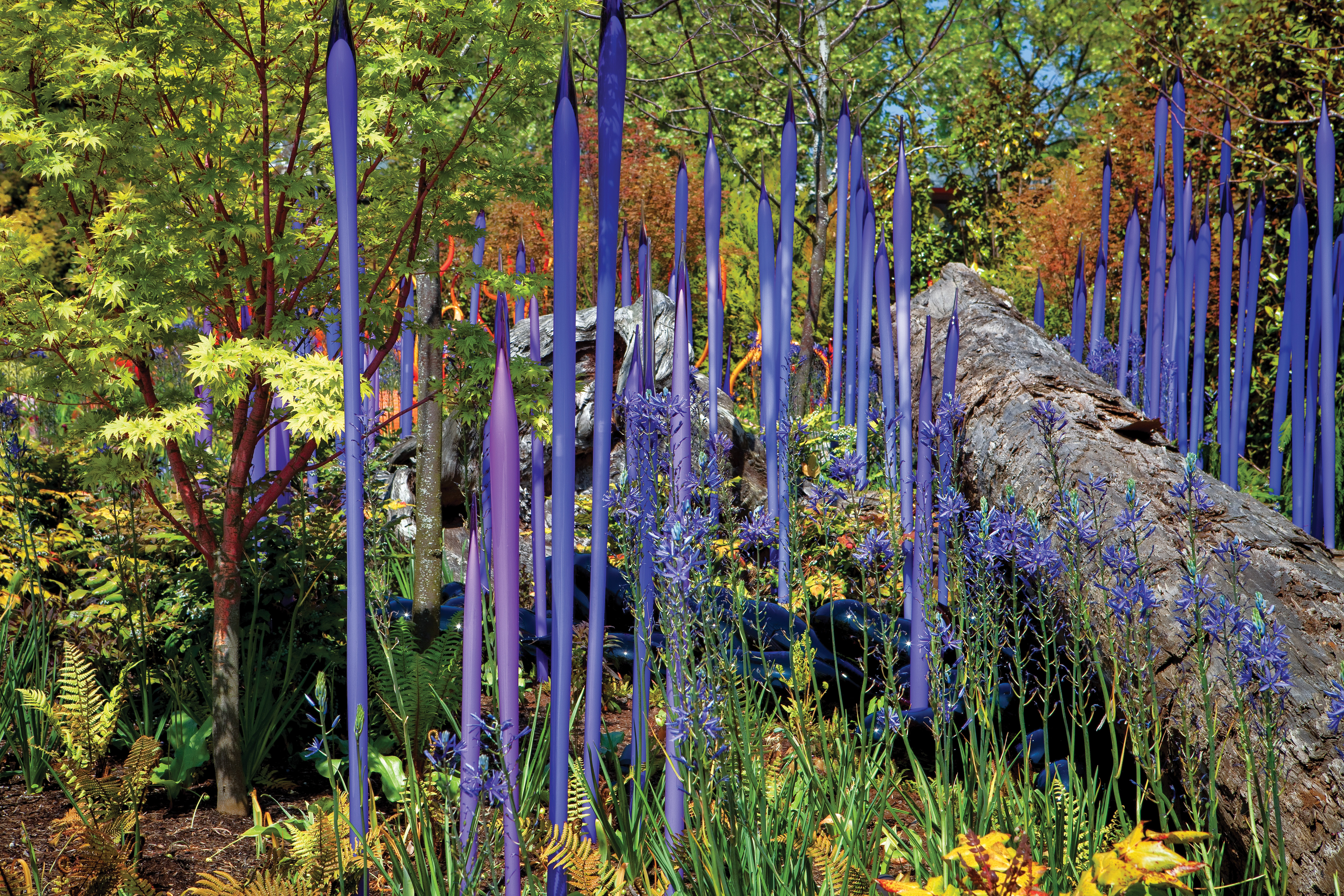 Spring Bloom by Dale Chihuly, Chihuly Garden and Glass, Seattle