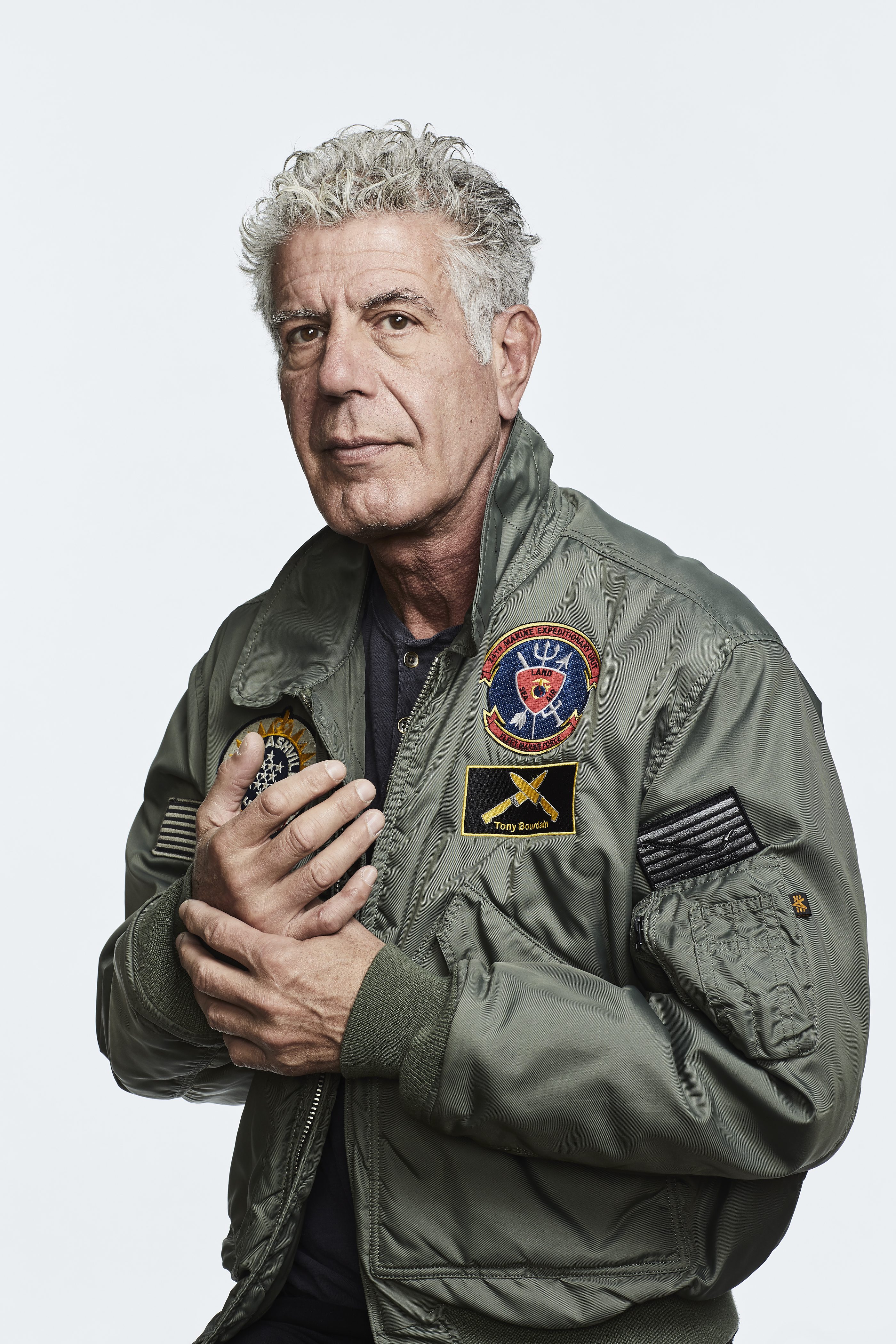Anthony Bourdain for Money Magazine
