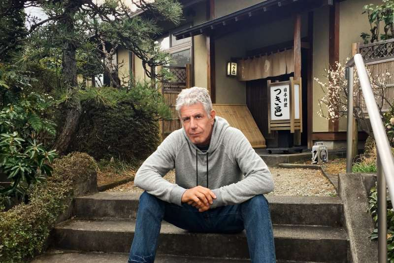 Anthony Bourdain takes in the local flavors of Tokyo.