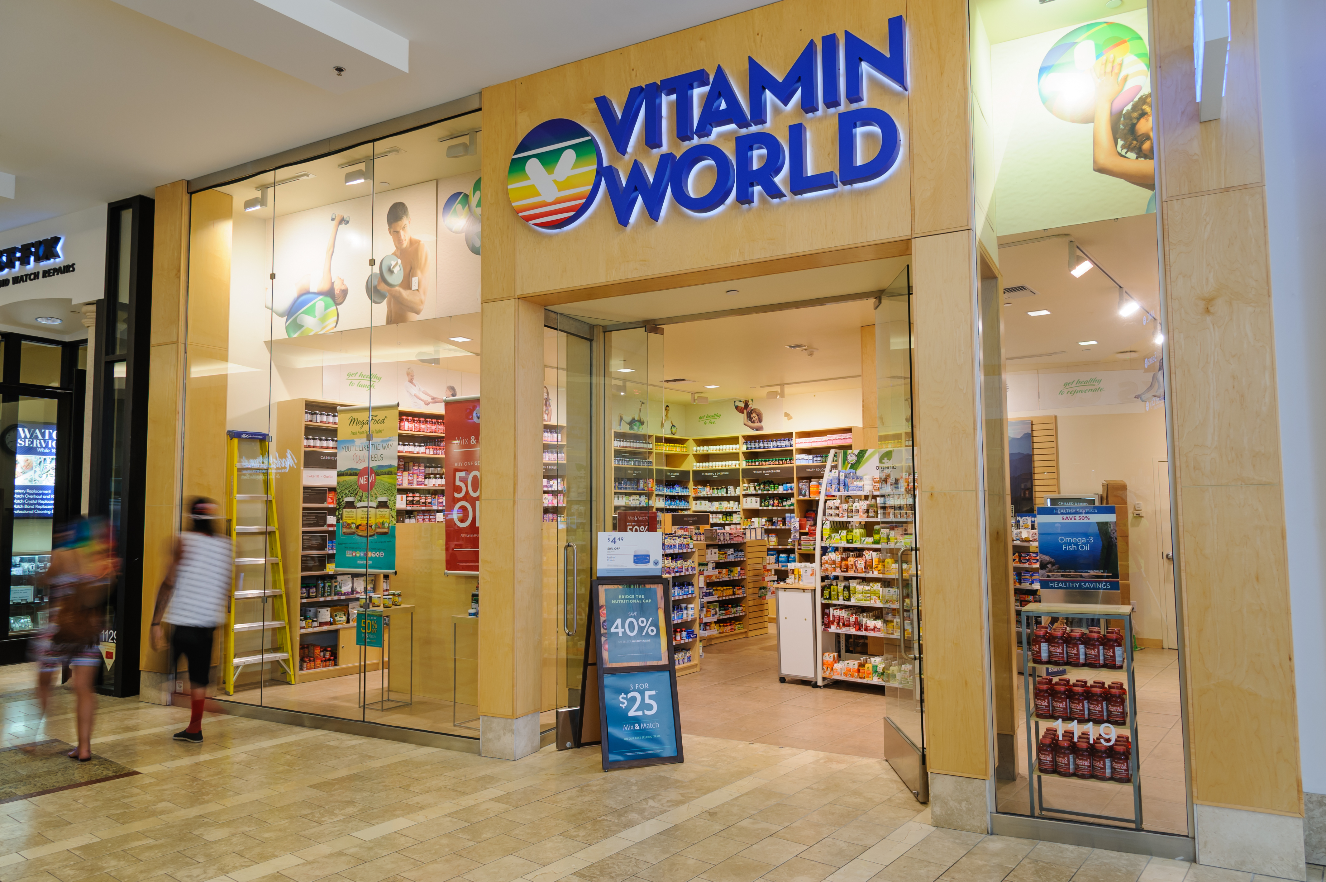 Vitamin World store