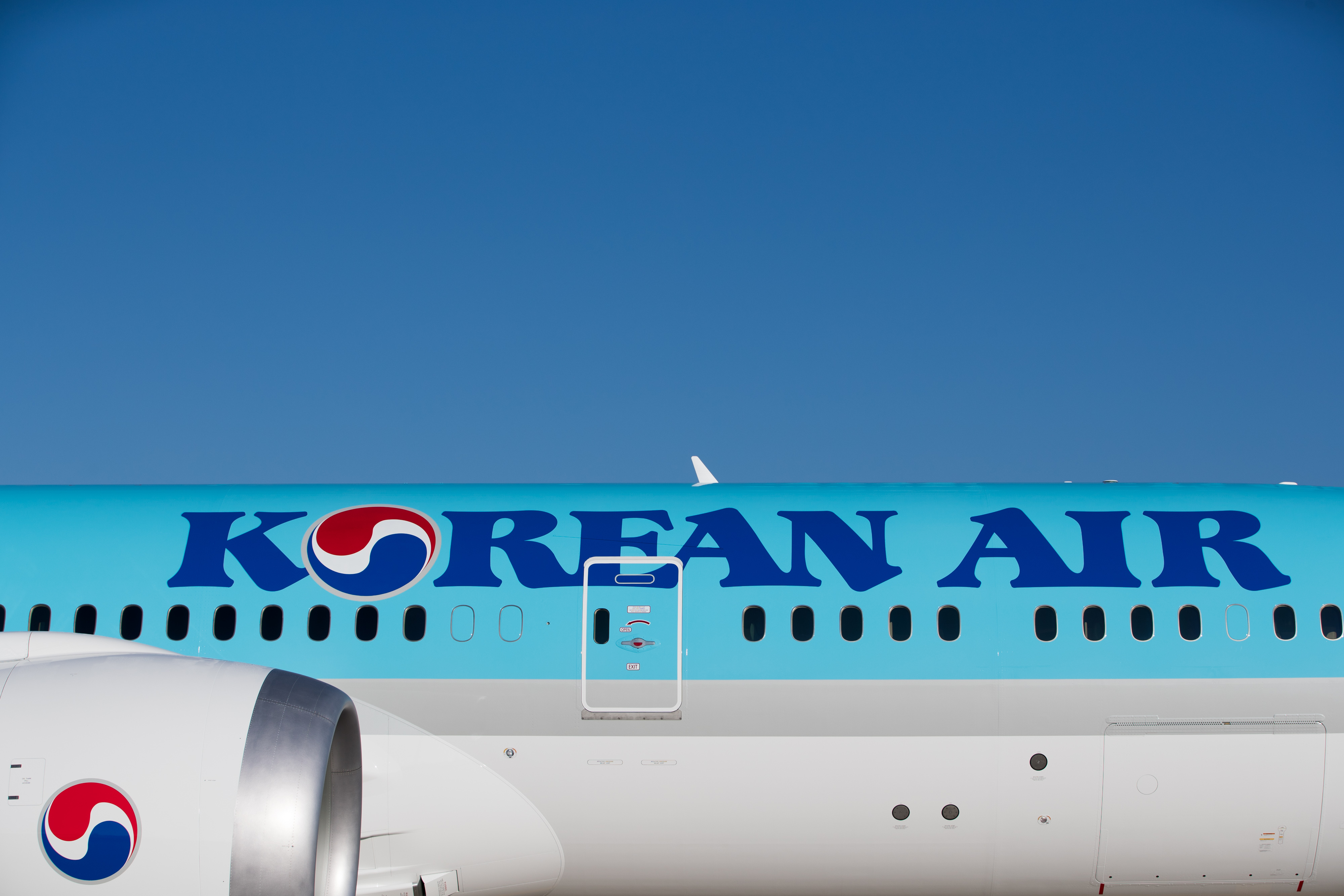 Korean Air Lines Co. President Walter Cho Launches New Boeing 787-9 Aircraft