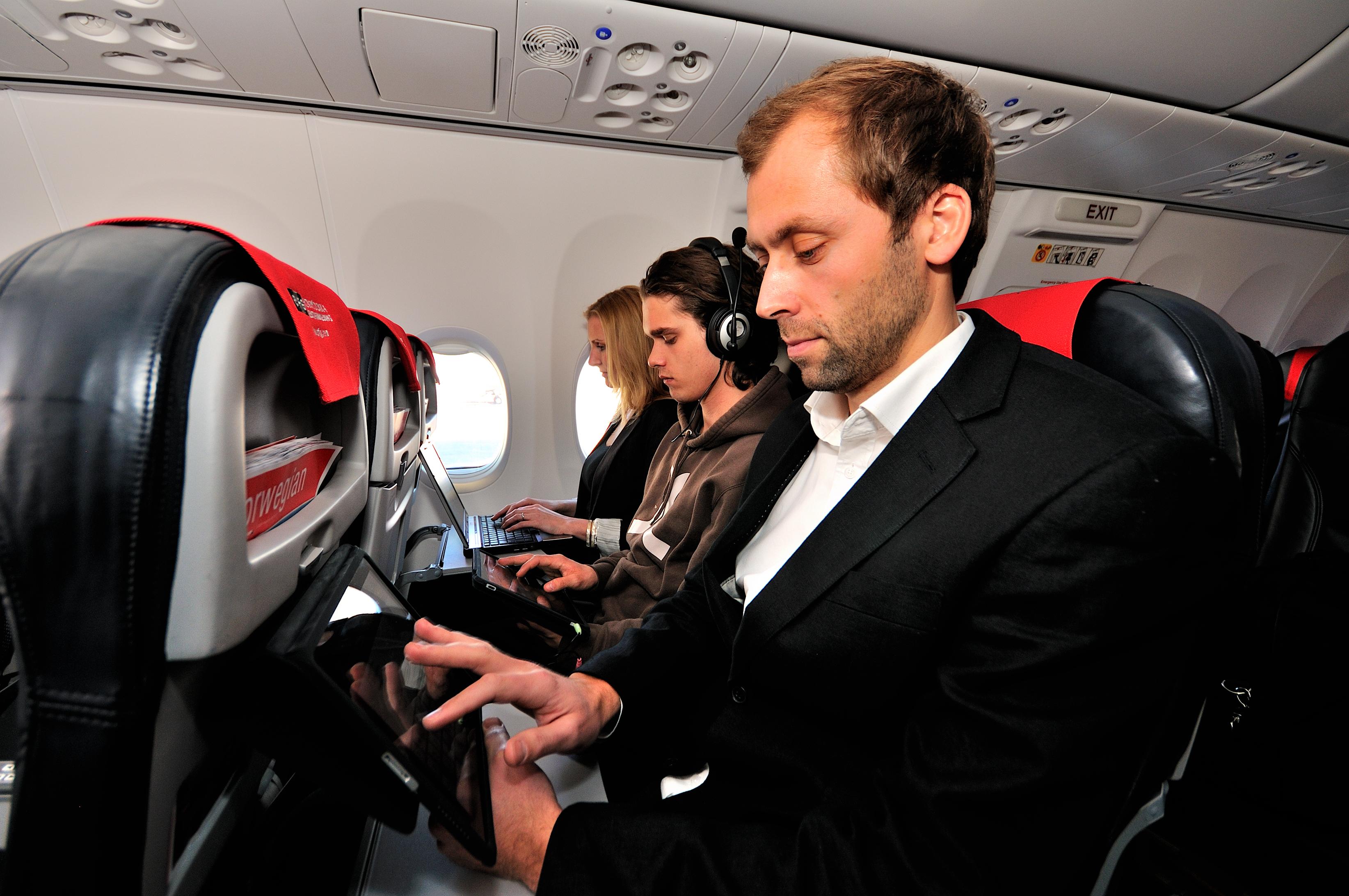 Free WiFi aboard Norwegian Air