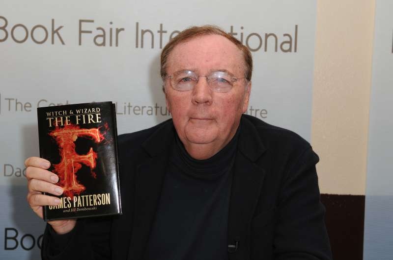James Patterson appears at Miami International Book Fair Miami Dade College.