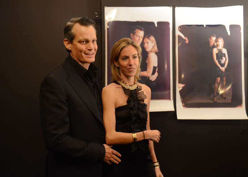 Nicole Mellon and Matthew Mellon attend We Are Family Foundation 2014 Gala at Hammerstein Ballroom in New York City.