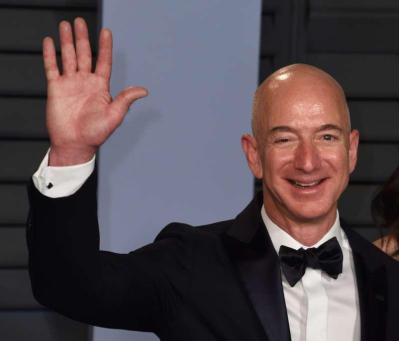 Jeff Bezos, Vanity Fair Oscar Party, Los Angeles, March 4, 2018.