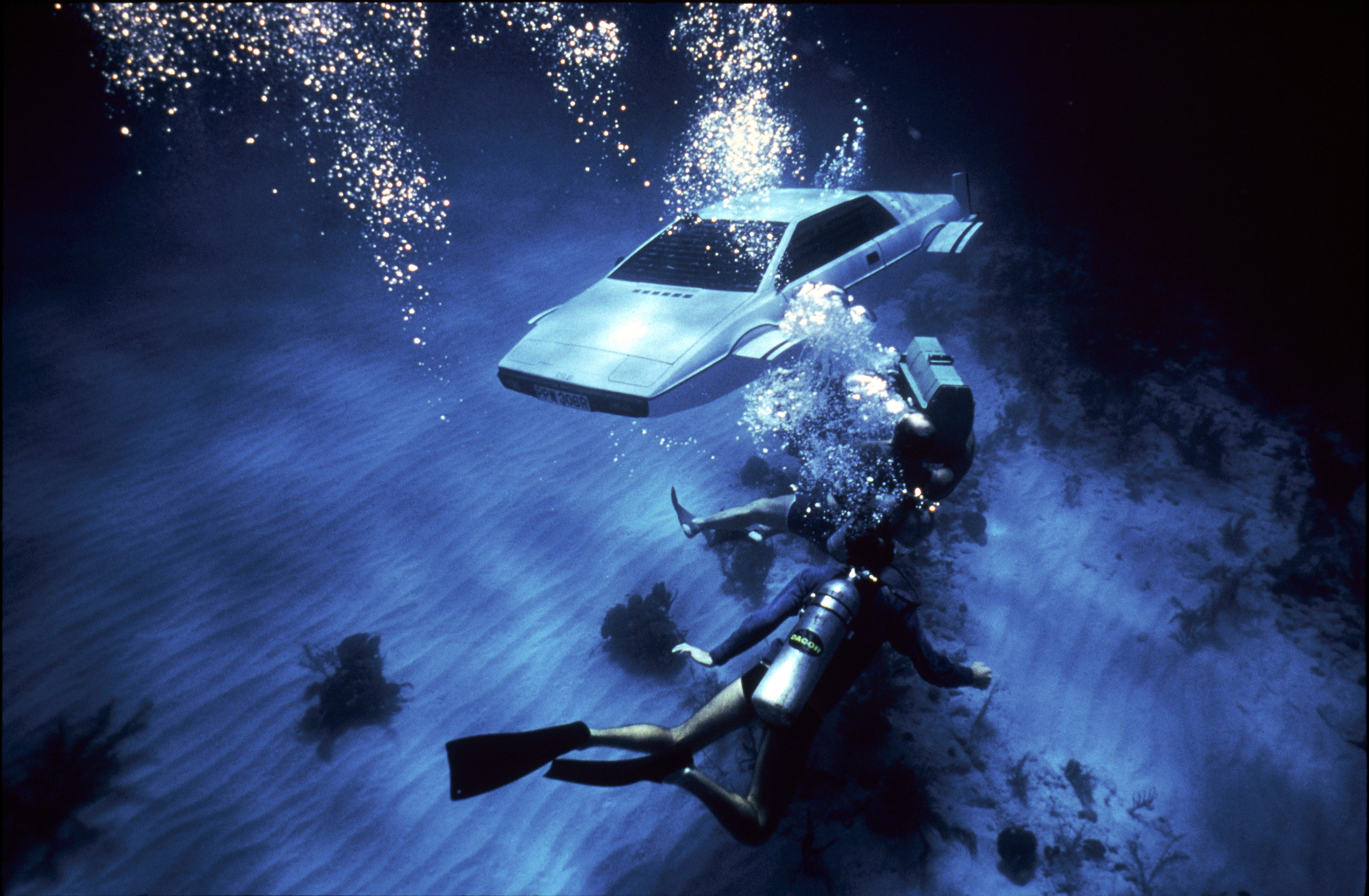 THE SPY WHO LOVED ME, Lotus Esprit, 1977.
