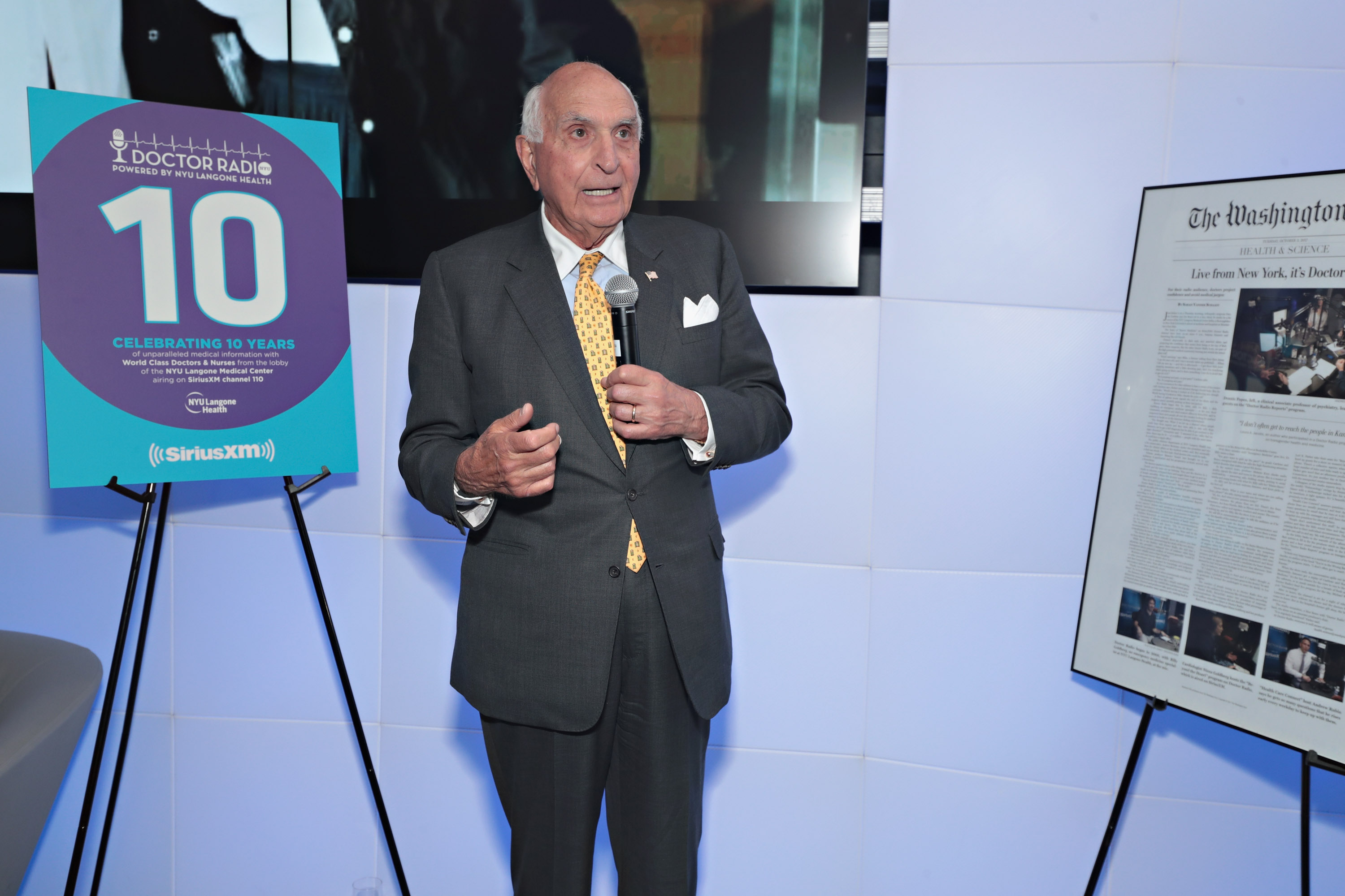 SiriusXM And NYU Langone Health Celebrate The 10th Year Anniversary Of The Doctor Radio Channel At The SiriusXM Studios In New York City