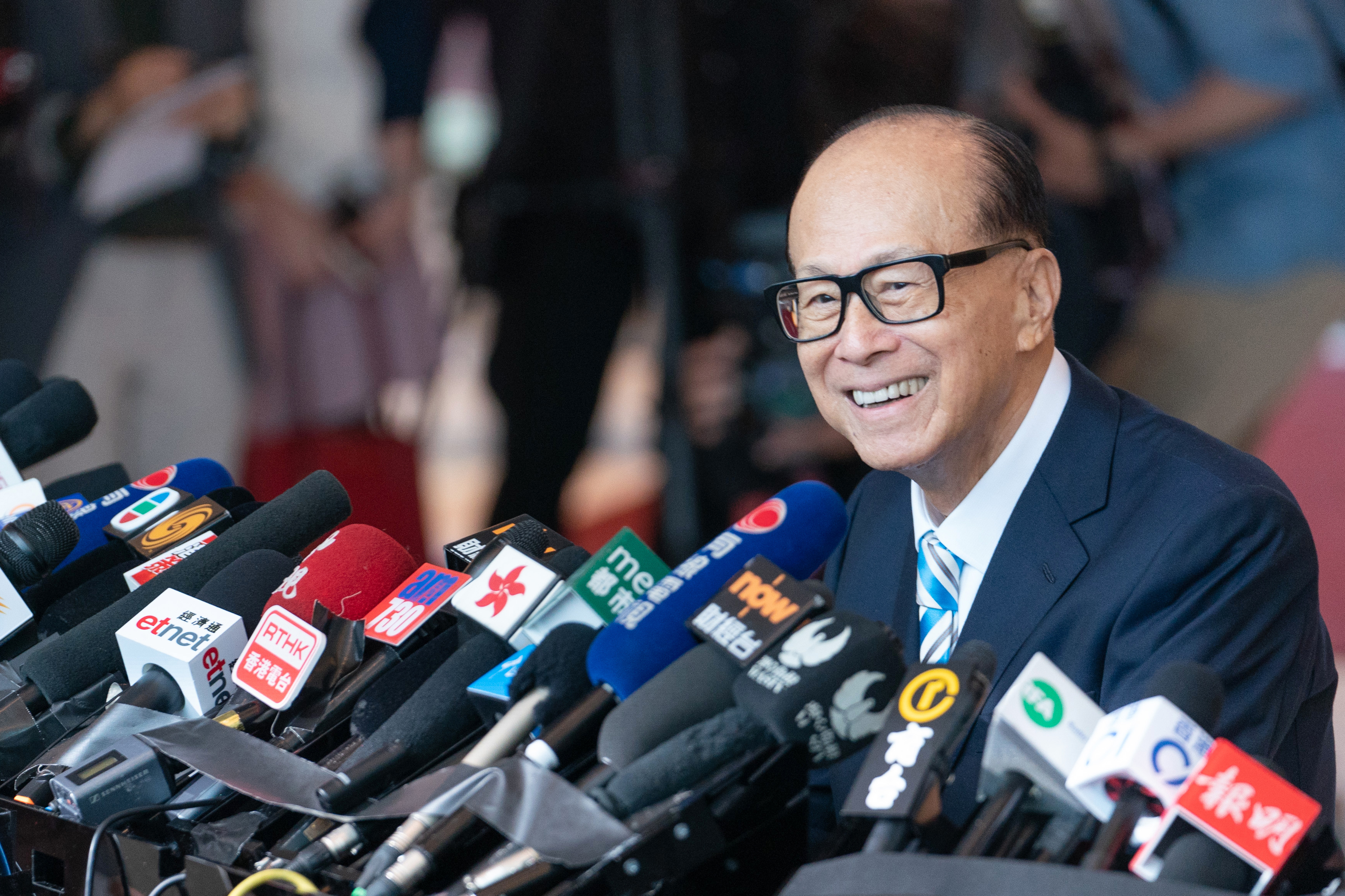Billionaire Li Ka-shing Appears For Last CK Hutchison Holdings Ltd. Annual General Meeting As Chairman