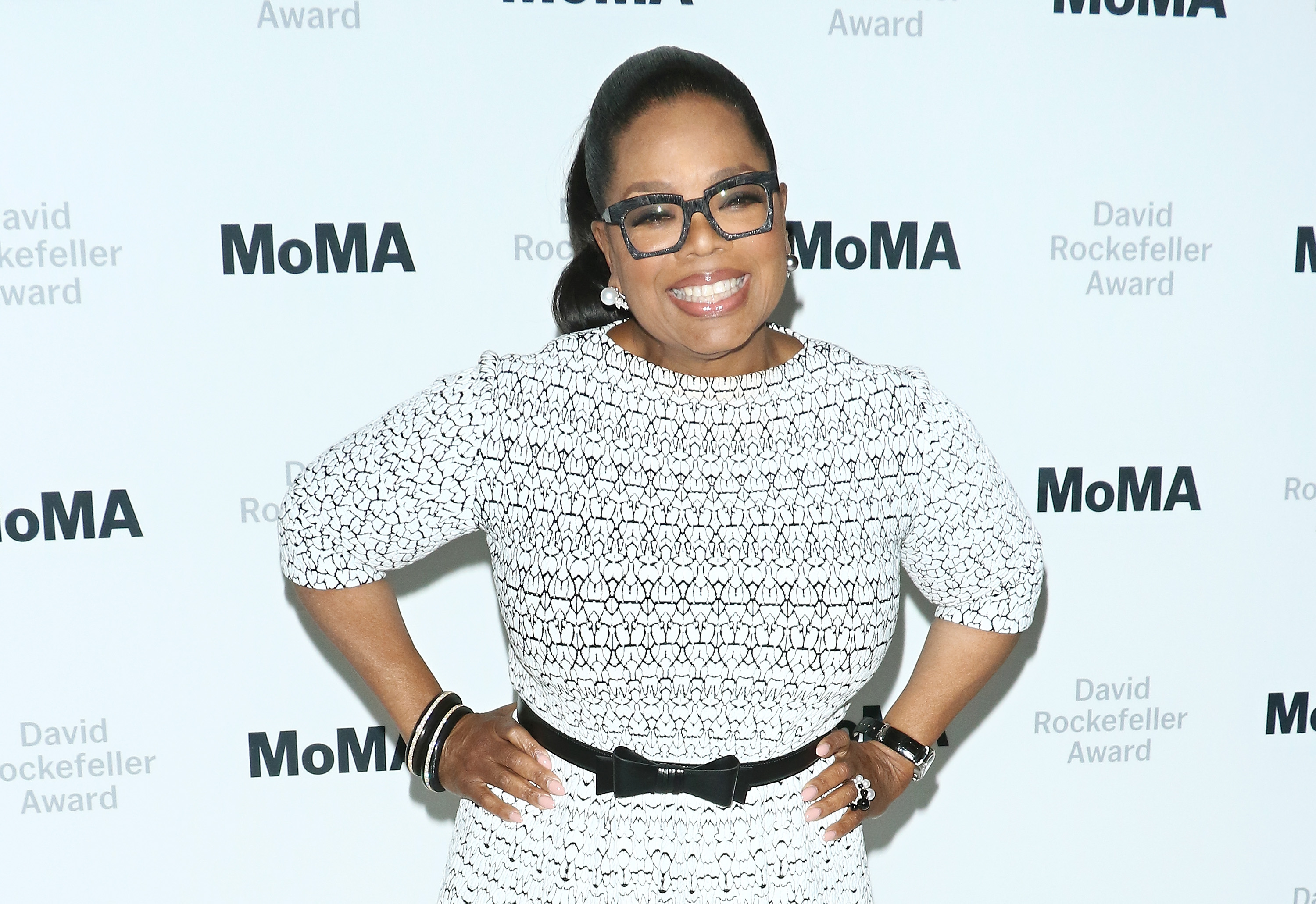 2018 MoMA David Rockefeller Award Luncheon Honoring Oprah