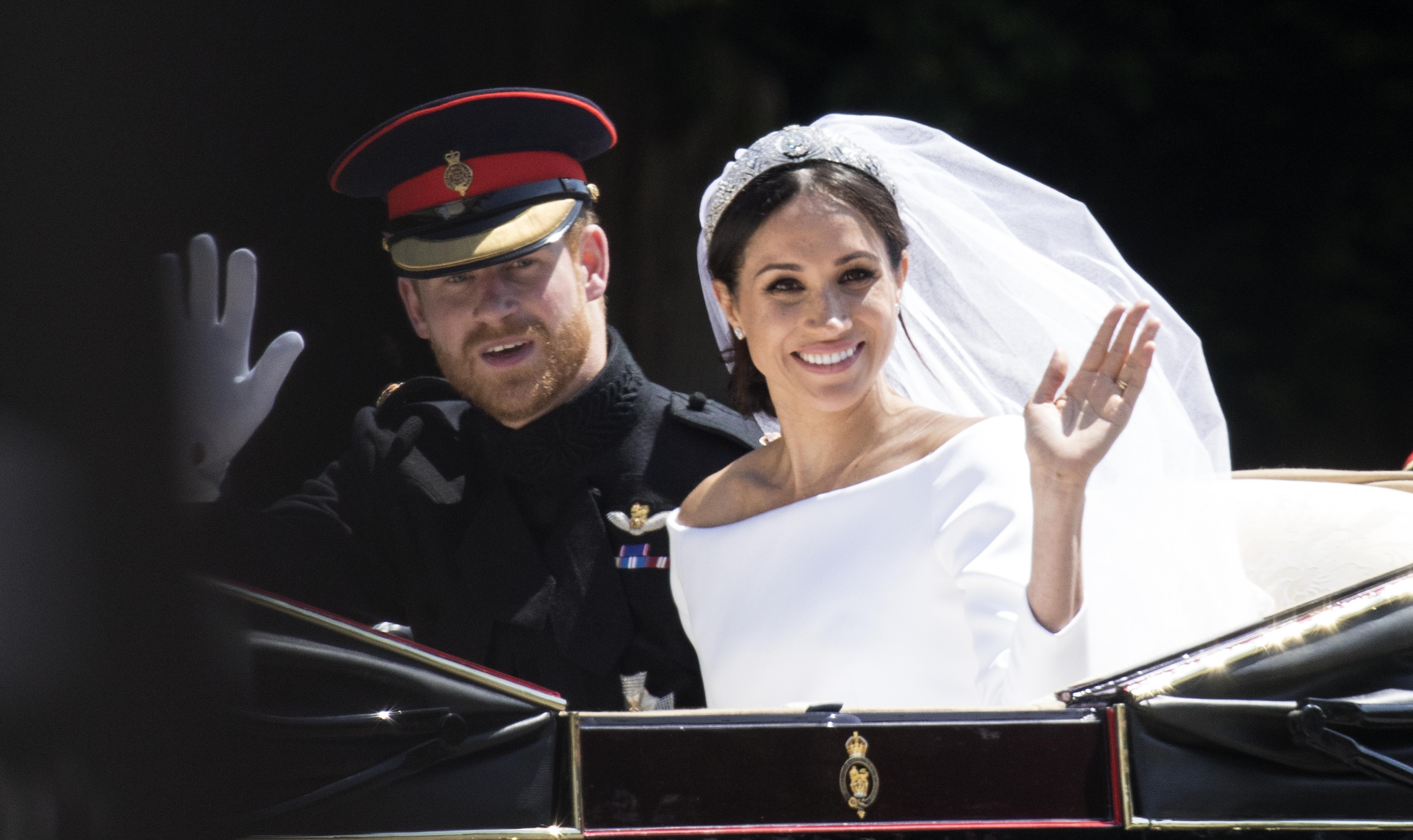 Prince Harry Marries Ms. Meghan Markle - Atmosphere