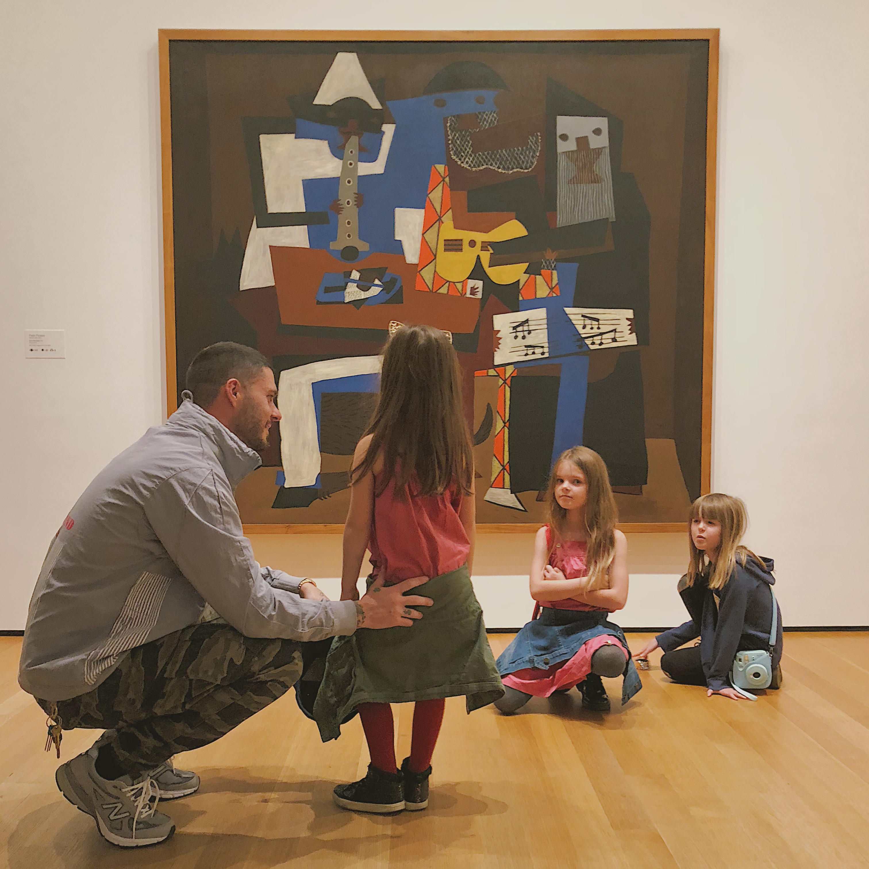 John, Berry, Jette and Milann Seymour at MoMA