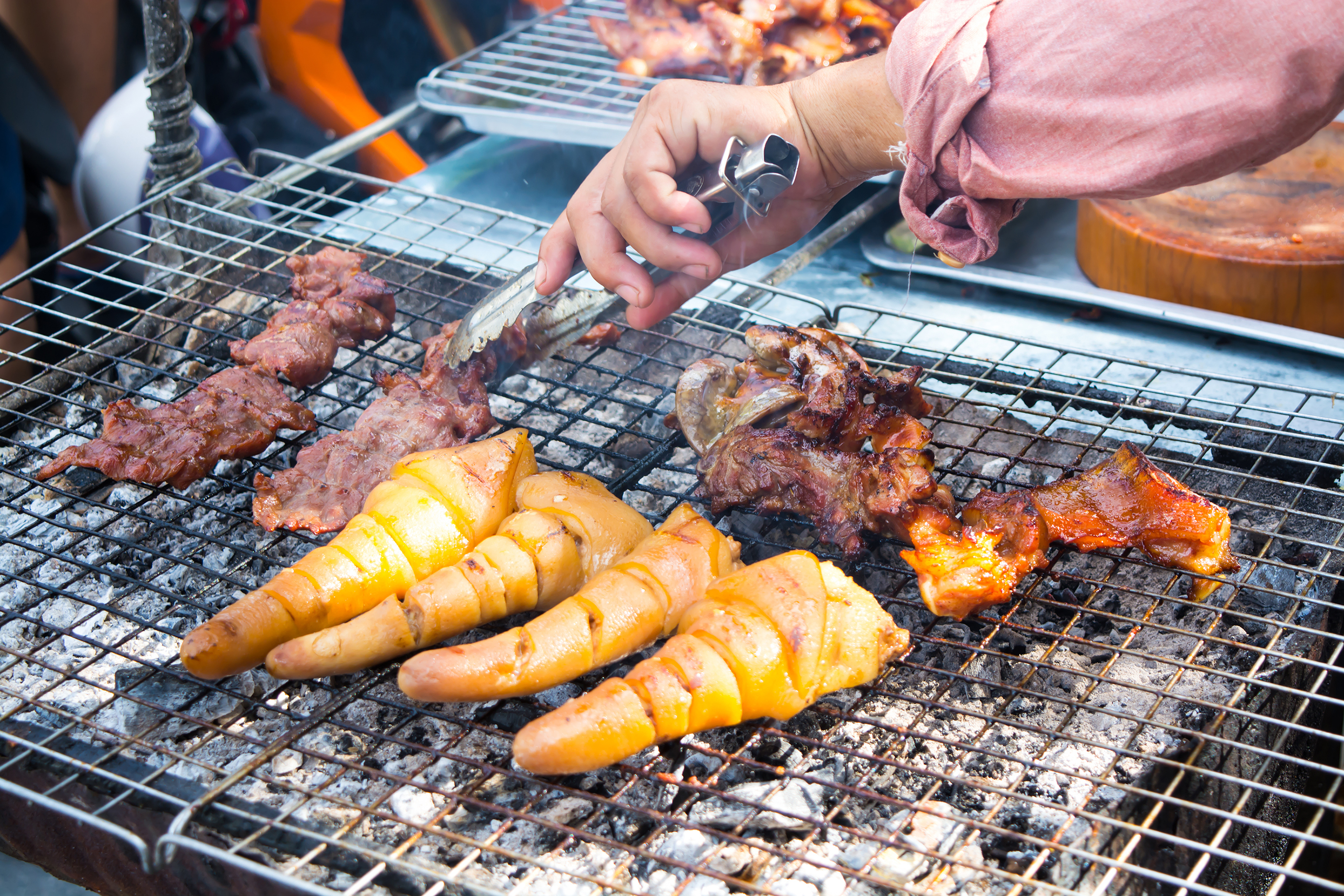 Grilled Pig-tails