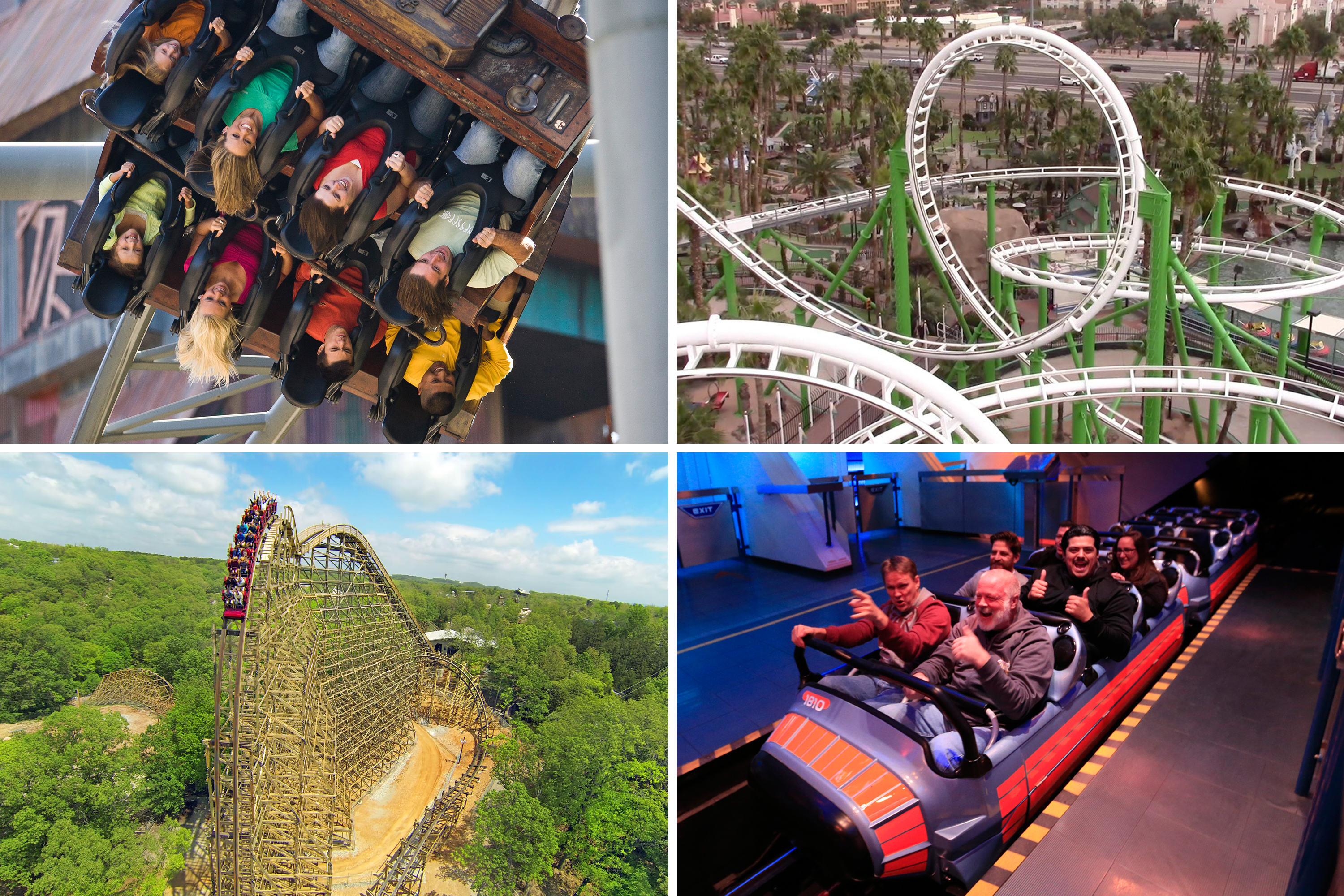 The 10 Best Amusement Parks Roller Coaster Rides In America Money