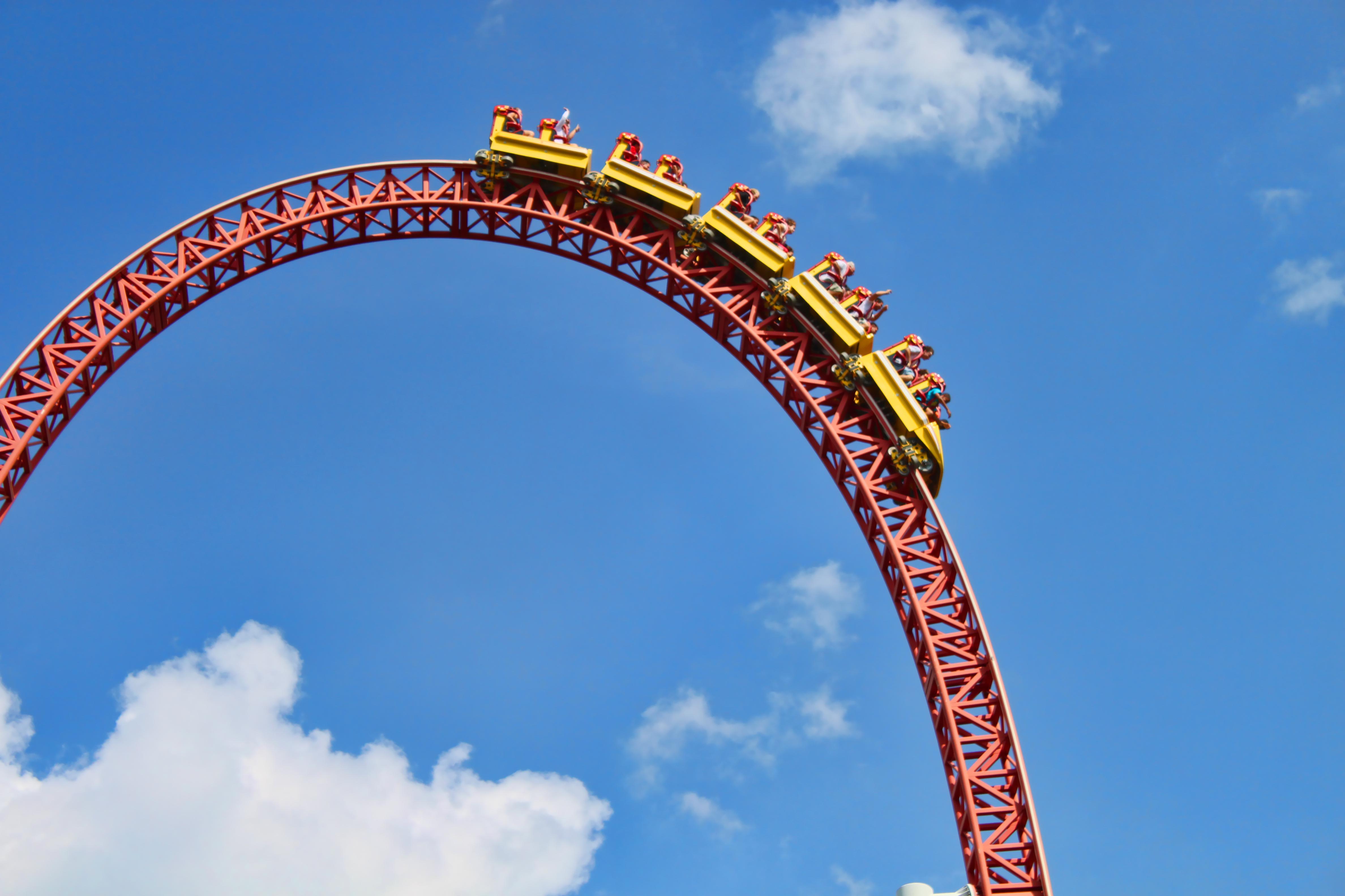 Storm Runner Roller Coaster