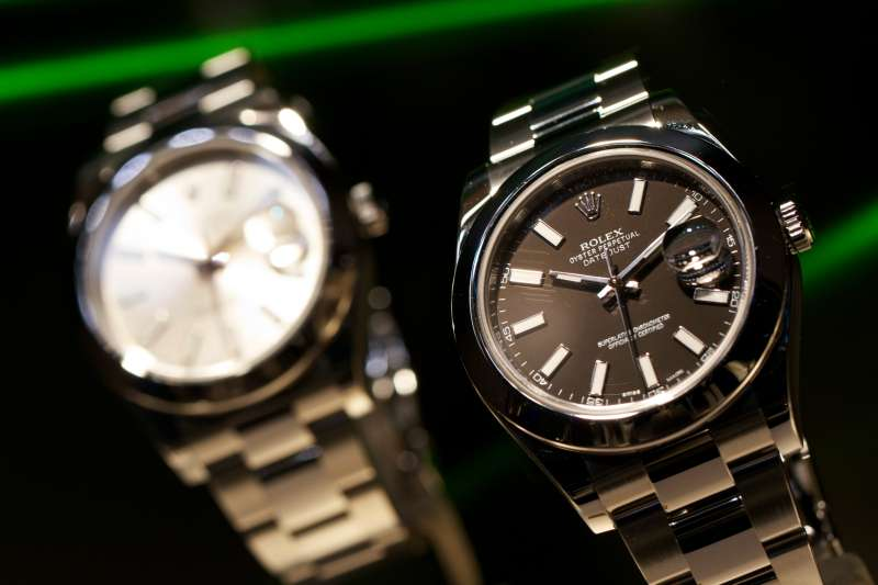 Oyster Perpetual Datejust  wristwatches, manufactured by Rolex